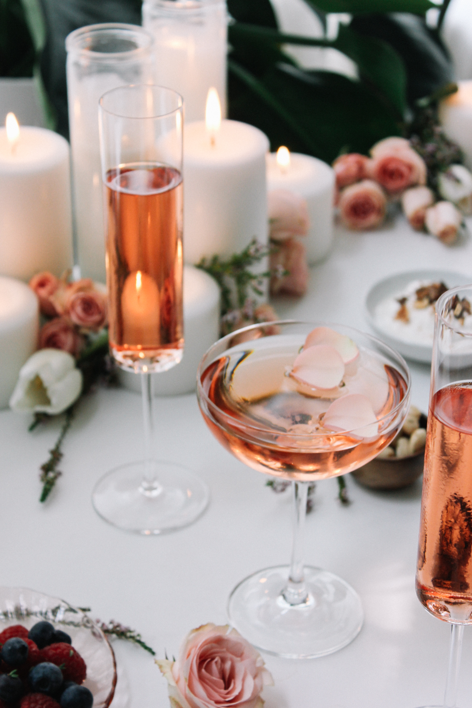 Roses in your rosé | A Fabulous Fete