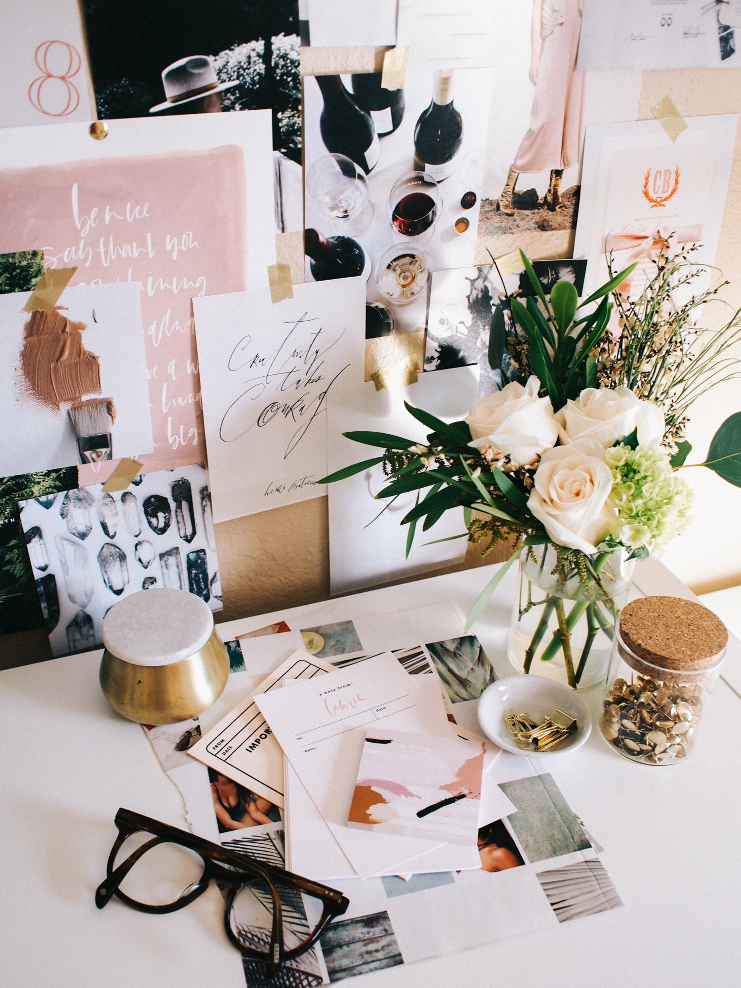 Mini arrangements to brighten up the office | A Fabulous Fete
