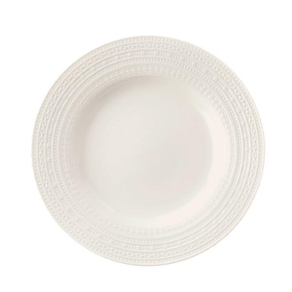 La Porcellana Bianca Casale Rim Salad Plate