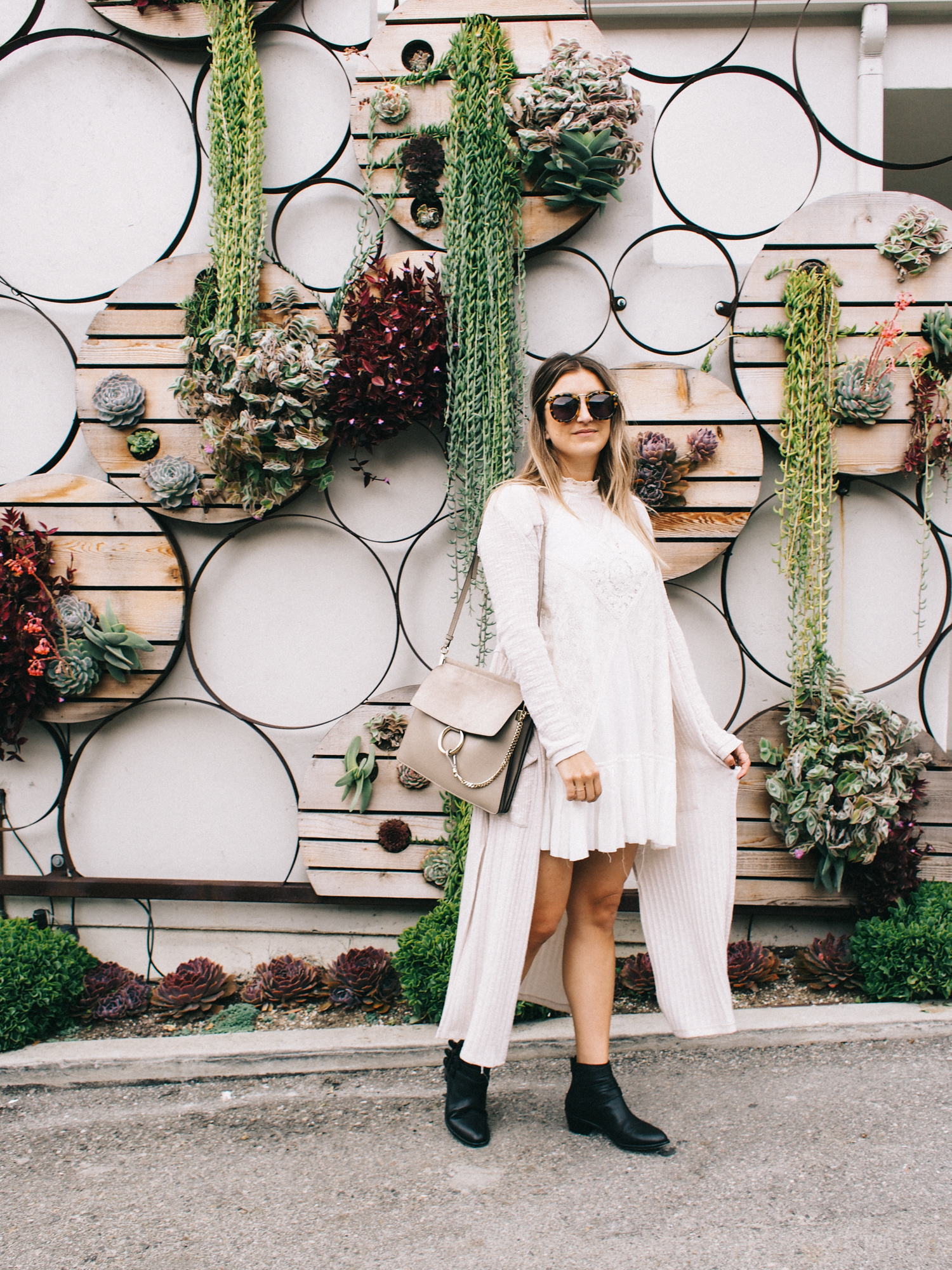 Free people dress + Loeffler Randall booties | A Fabulous Fete
