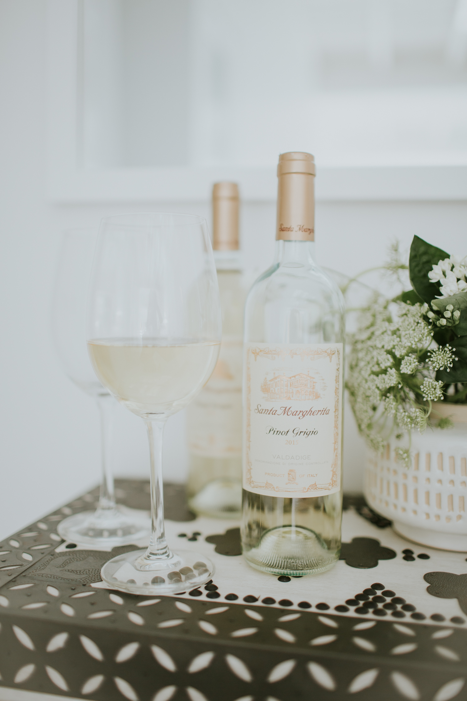 Santa Margherita Pinot Grigio, a fave for summer parties!   A Fabulous Fete