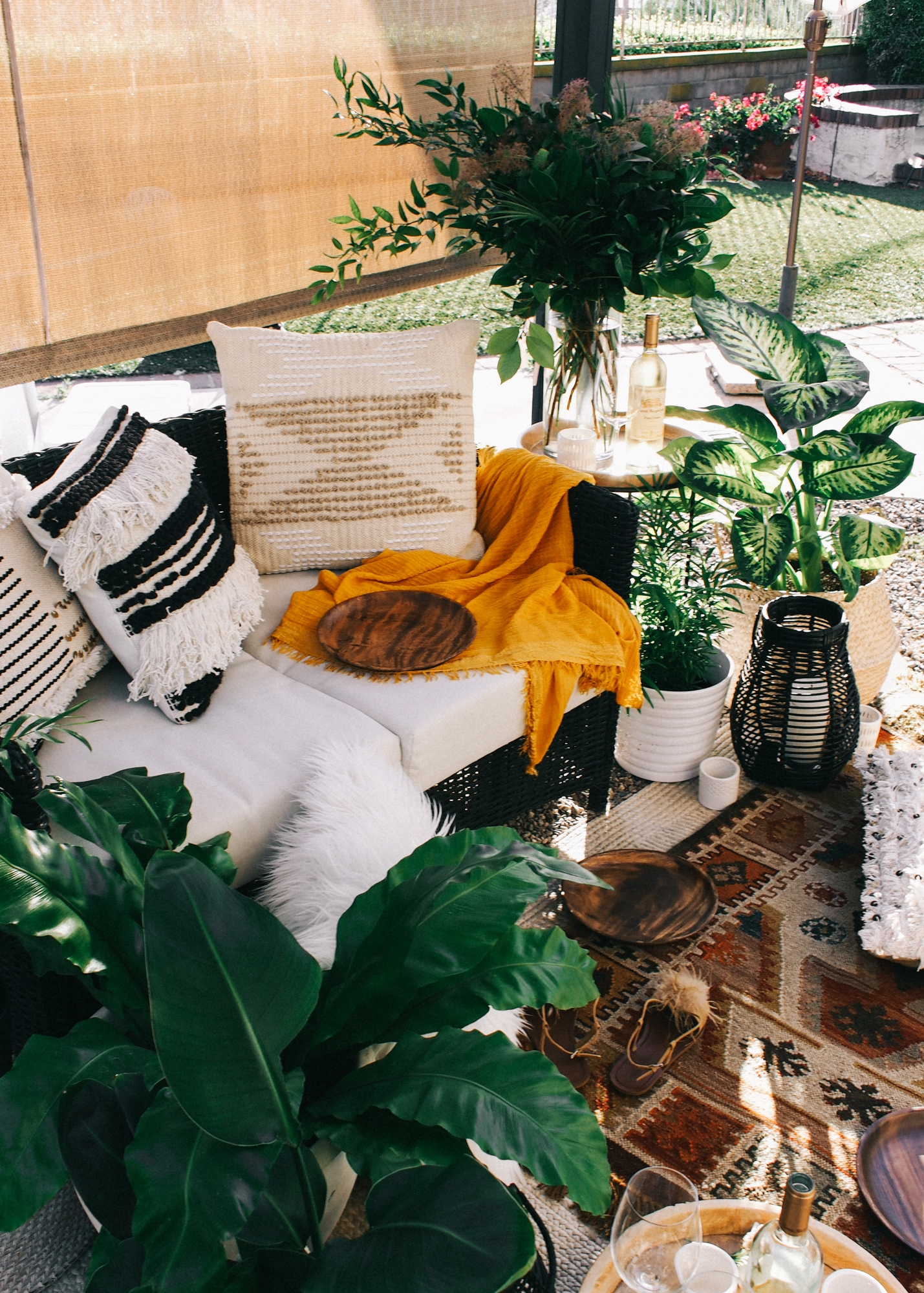 How to get your outdoor area ready for hosting get togethers in no time | A Fabulous Fete