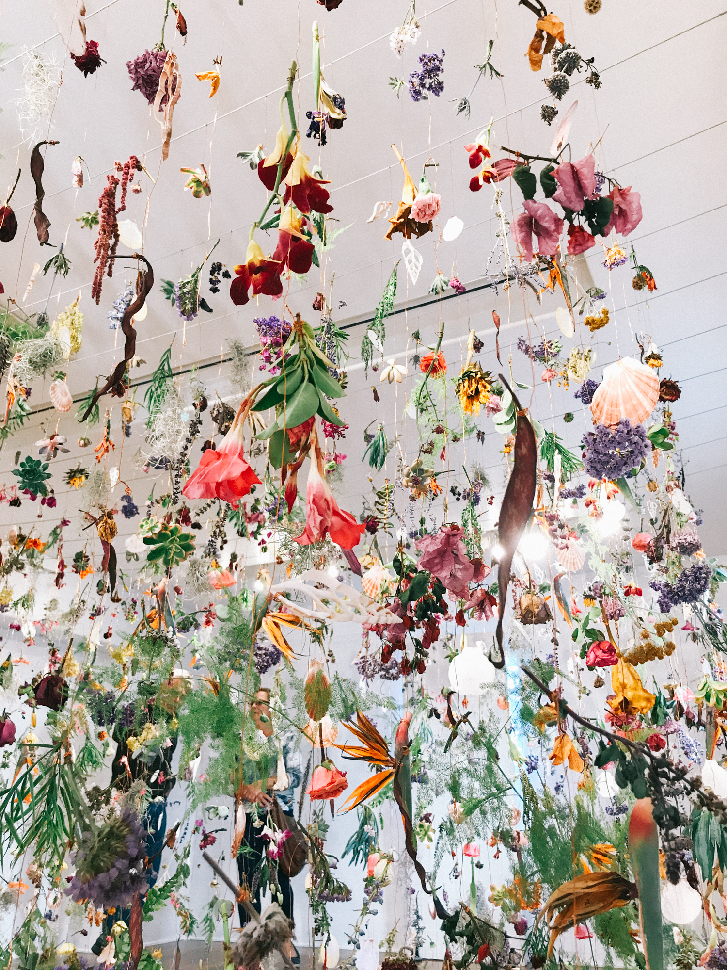 You have to see this flower installation before it's gone! | A Fabulous Fete