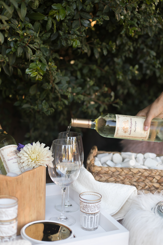 Santa Margherita backyard get together   A Fabulous Fete