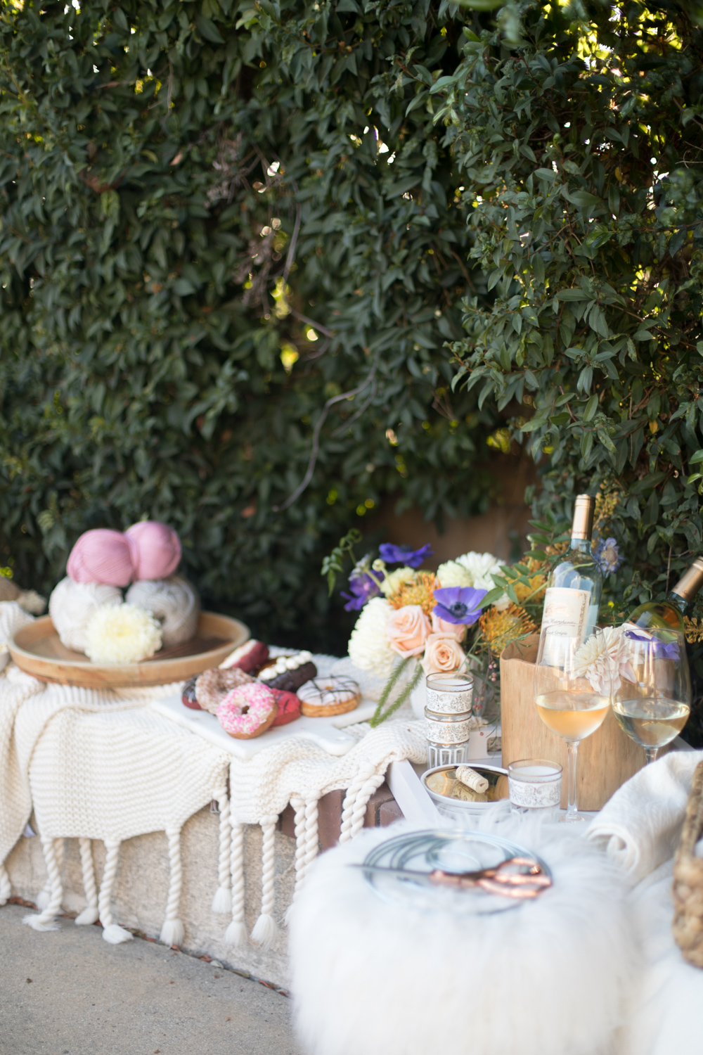 Transform your outdoor space for a girls night | A Fabulous Fete