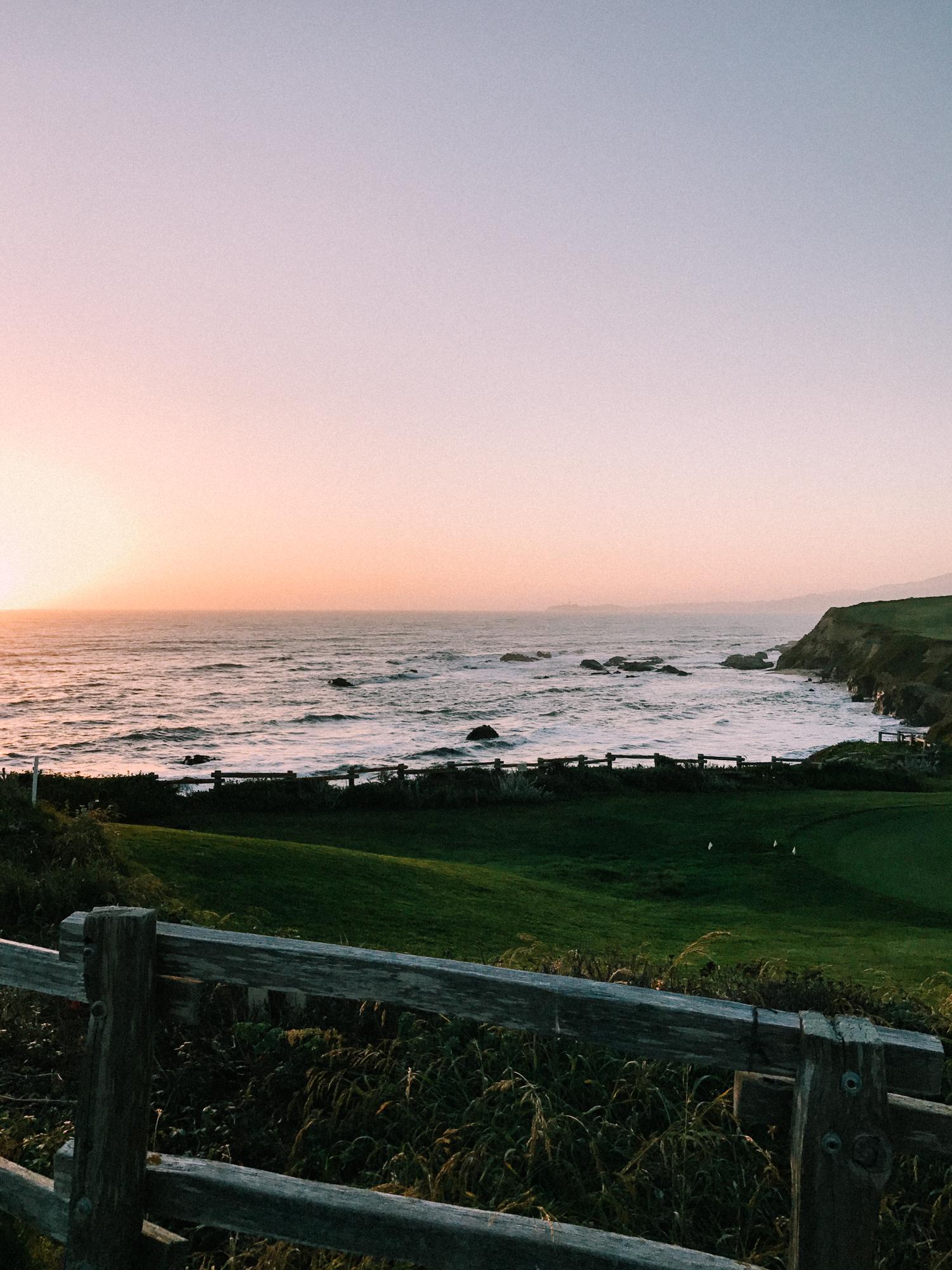Sunset in Half Moon Bay | A Fabulous Fete