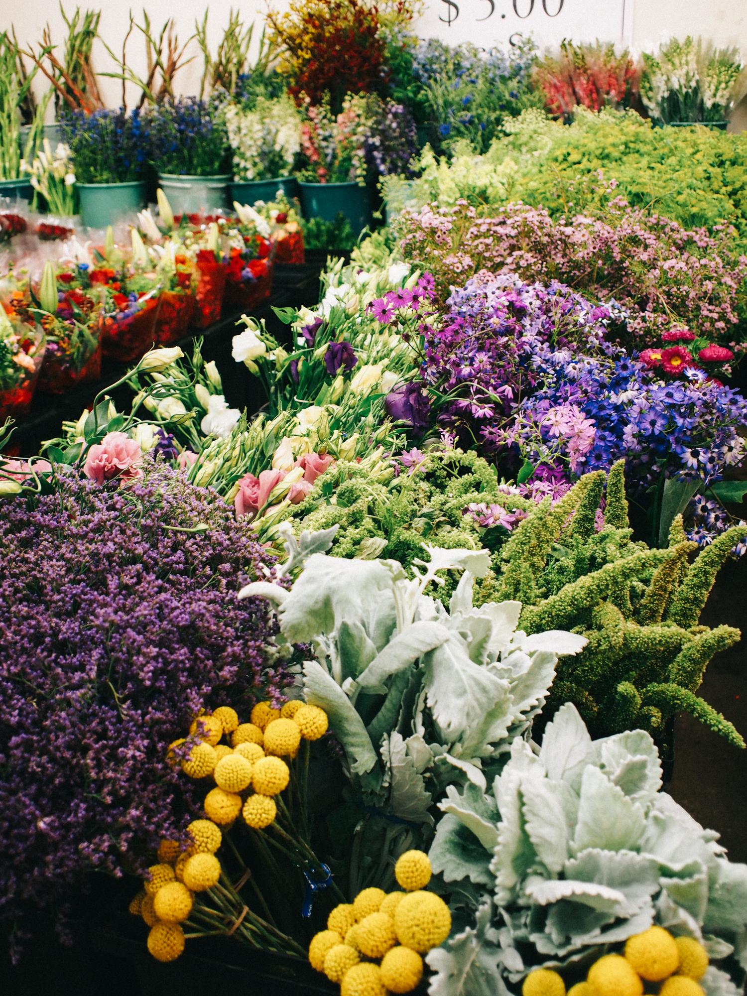 DIY flower shop in Half Moon Bay | A Fabulous Fete