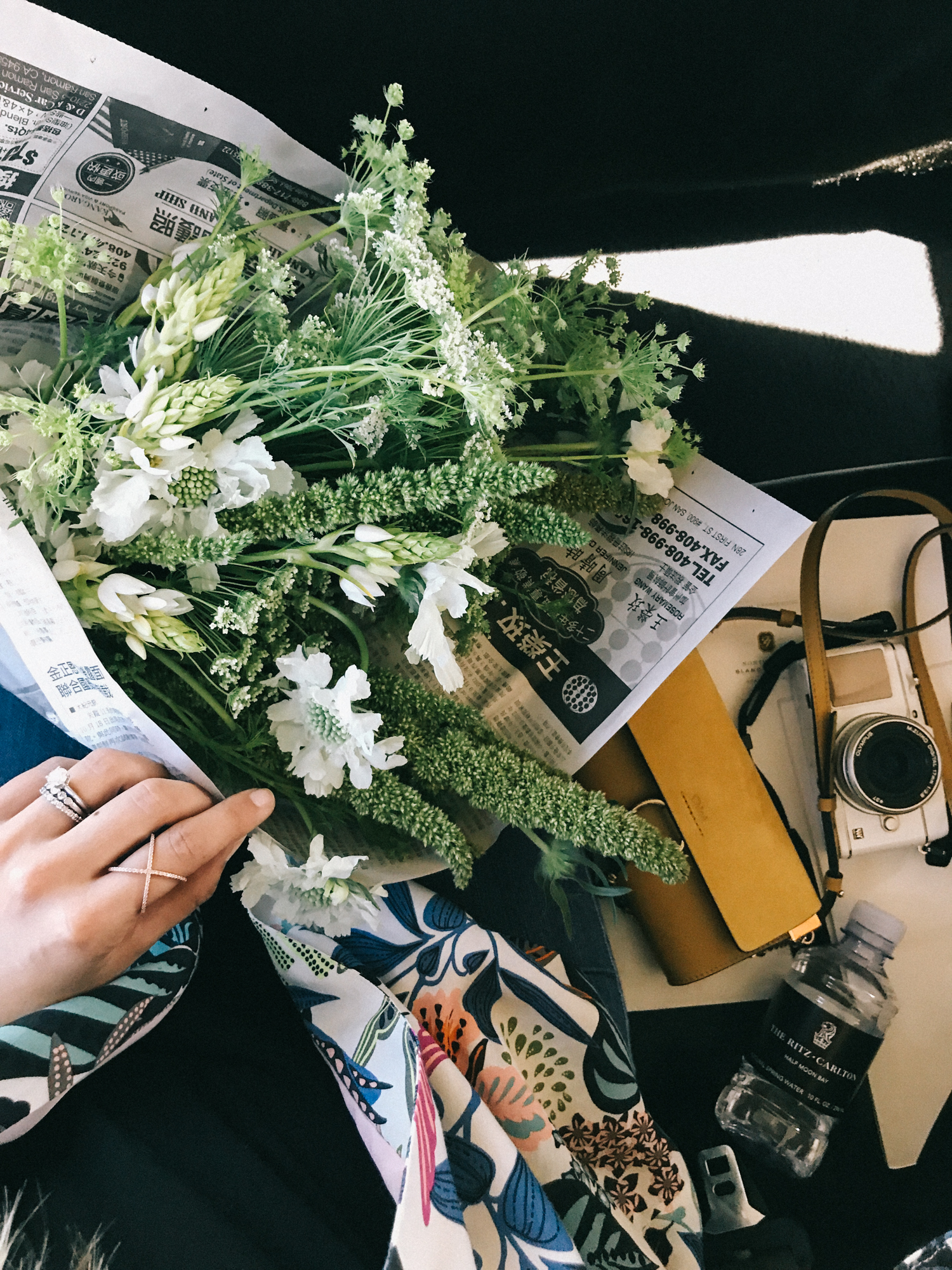 diy bouquet at this flower farm in half moon bay | A Fabulous Fete