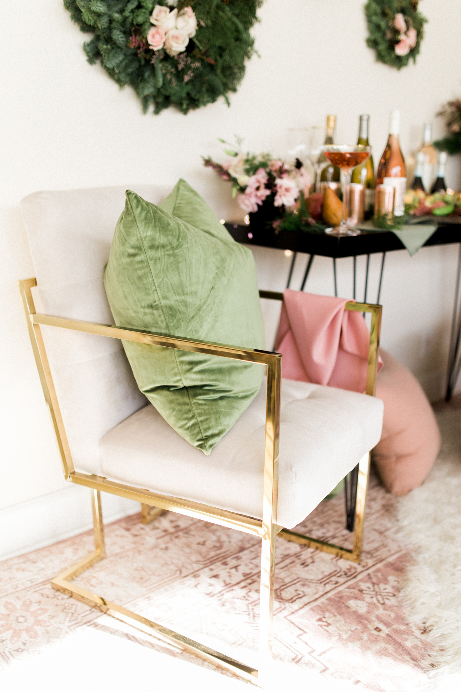 The perfect occasional chair to pull in for your parties | A Fabulous Fete