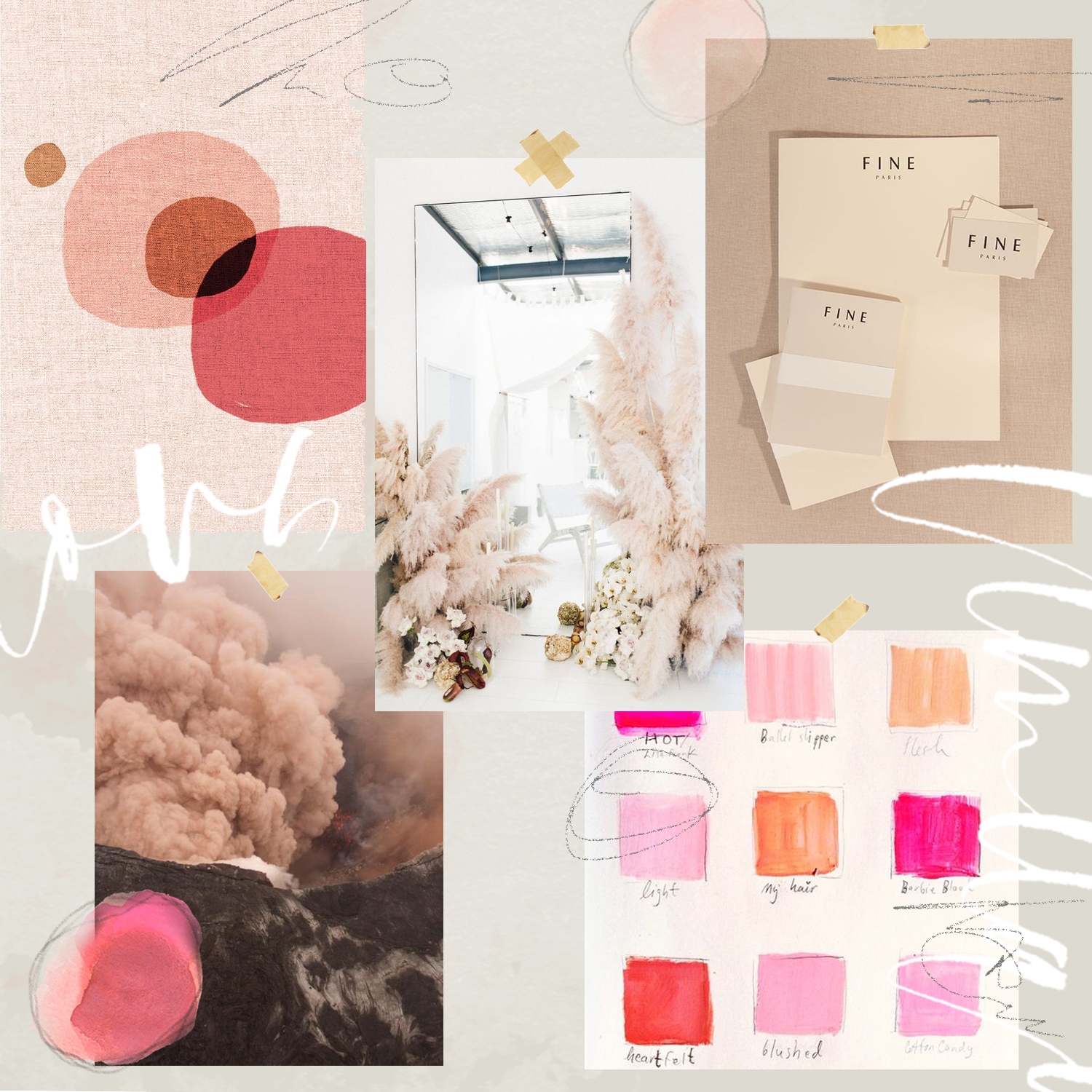 January inspiration for our free desktop download   A Fabulous Fete