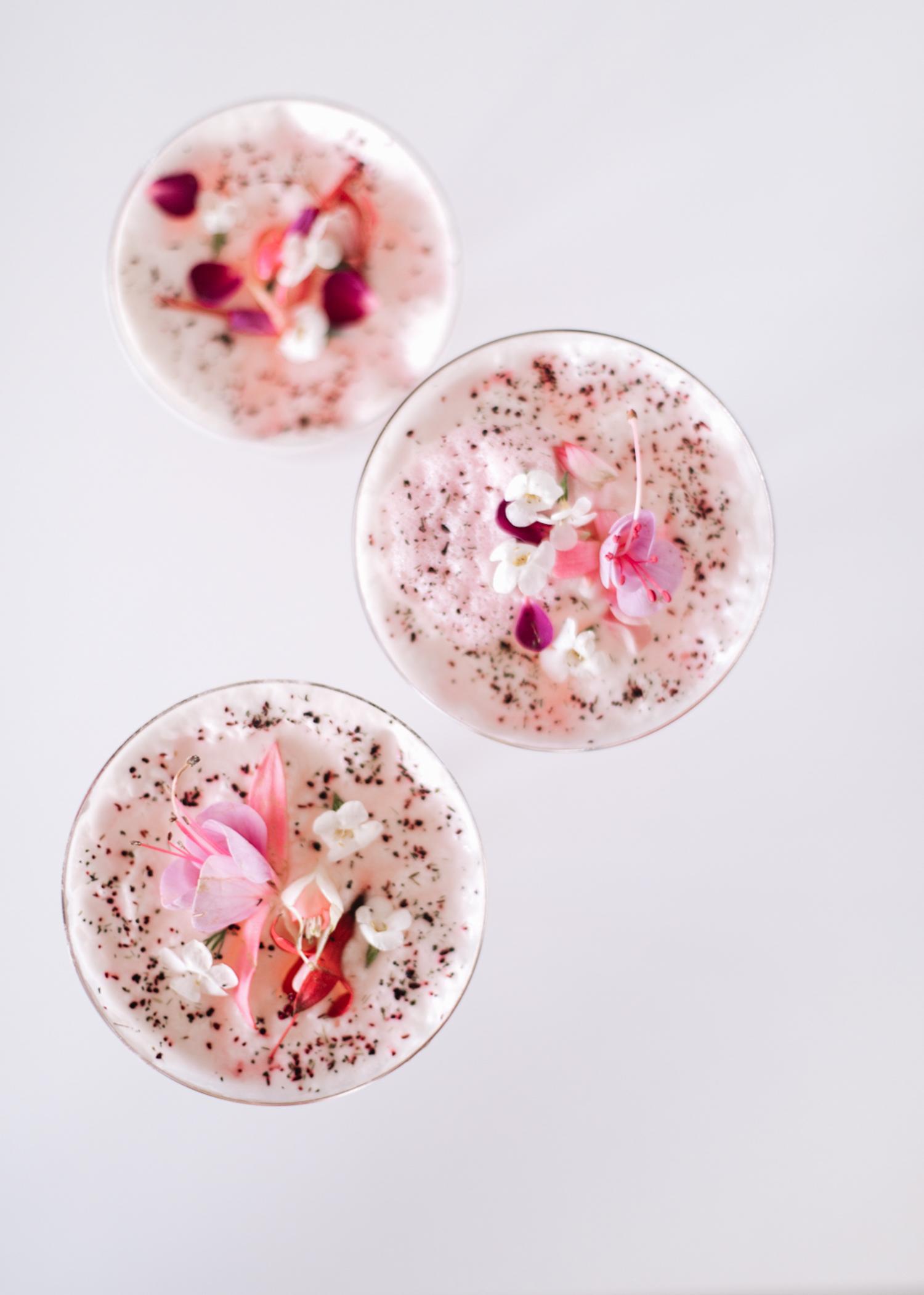 Lavender Rosewater Spritzer | A Fabulous Fete