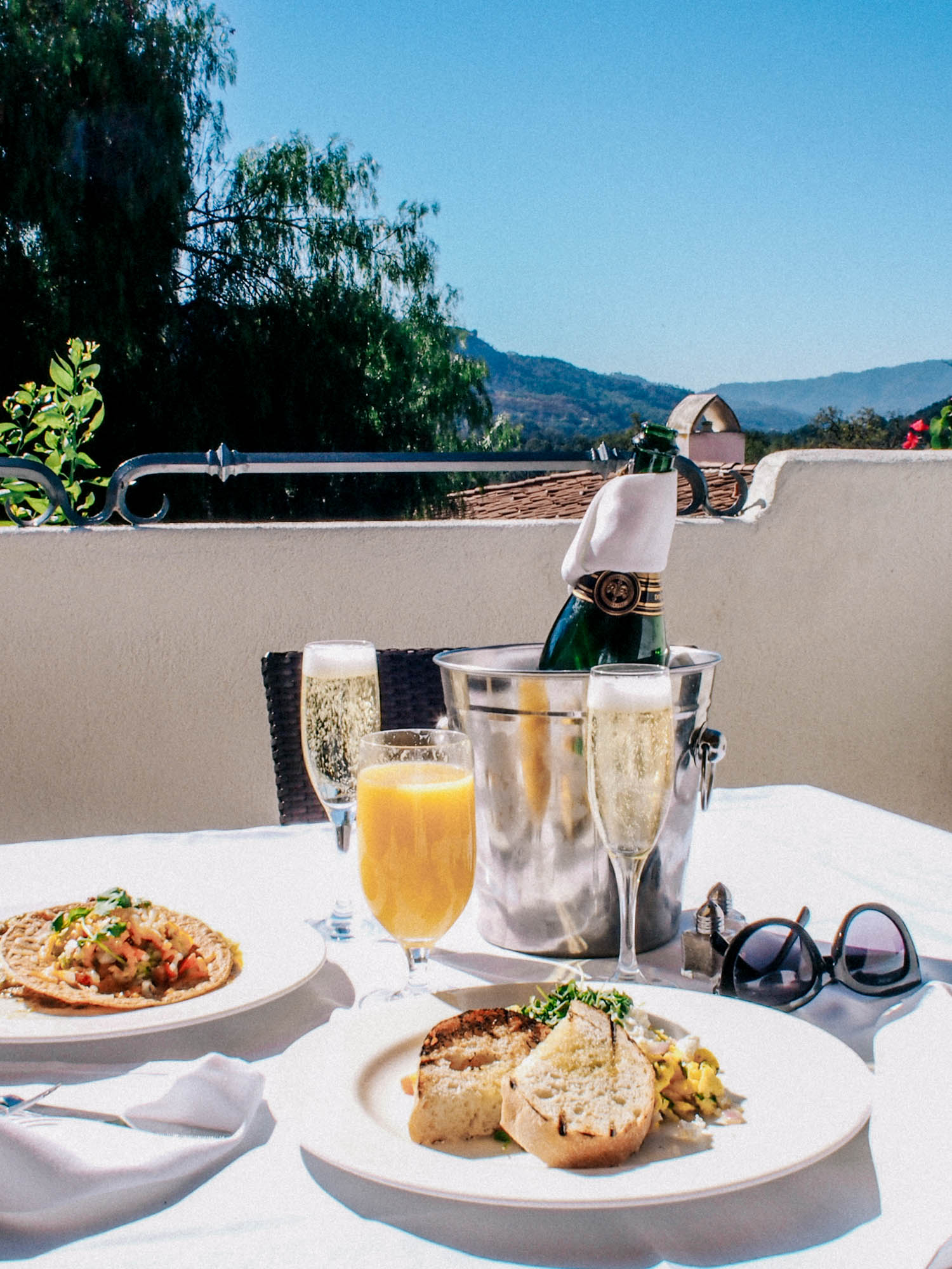 Room service // how to spend a weekend in Ojai | A Fabulous Fete