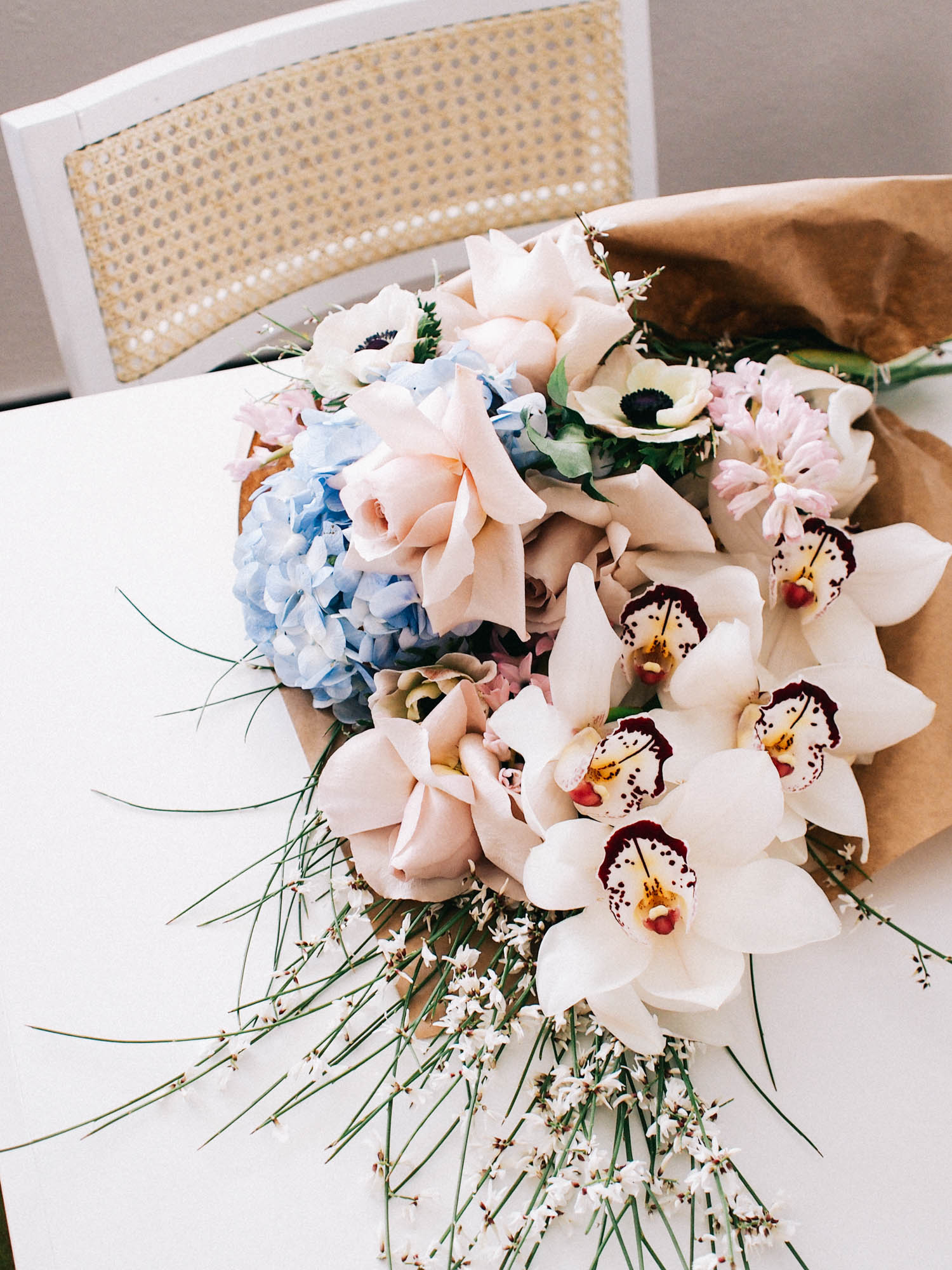A Day in the life // Picking up fresh flowers for photoshoots | A Fabulous Fete