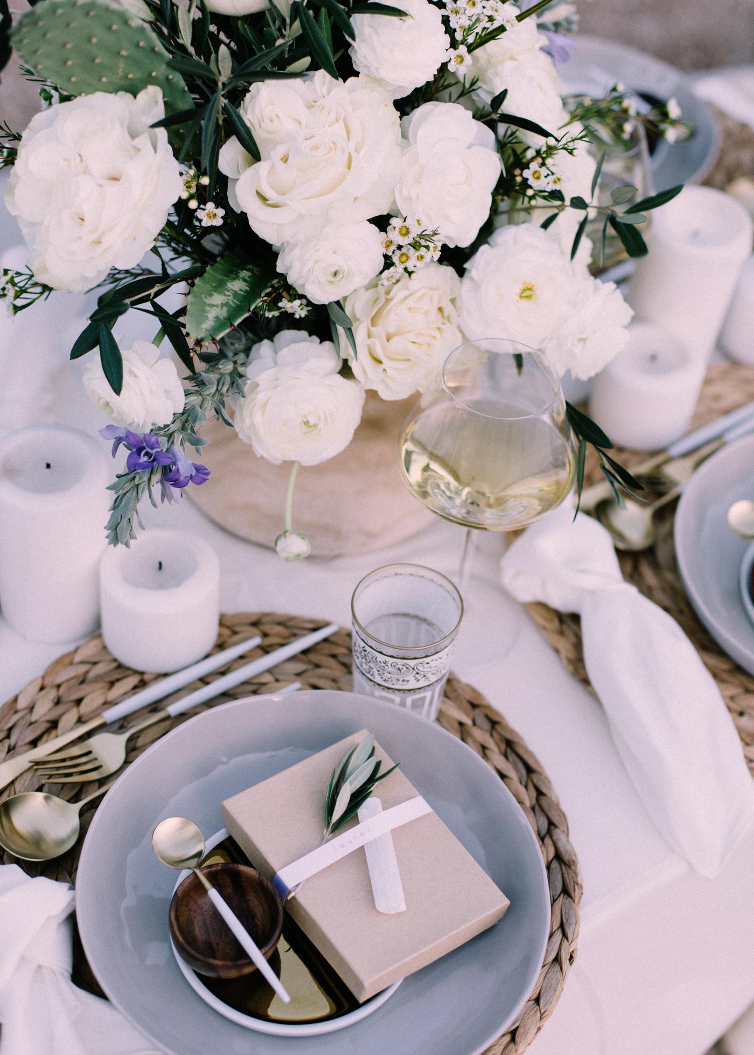 Desert Inspired Tablescape | A Fabulous Fete