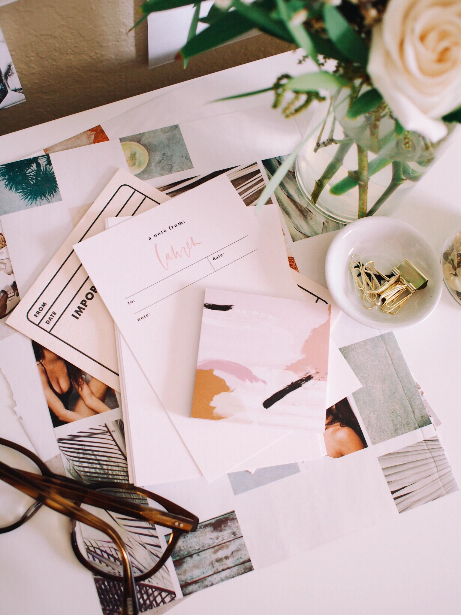 Organize your desk | A Fabulous Fete