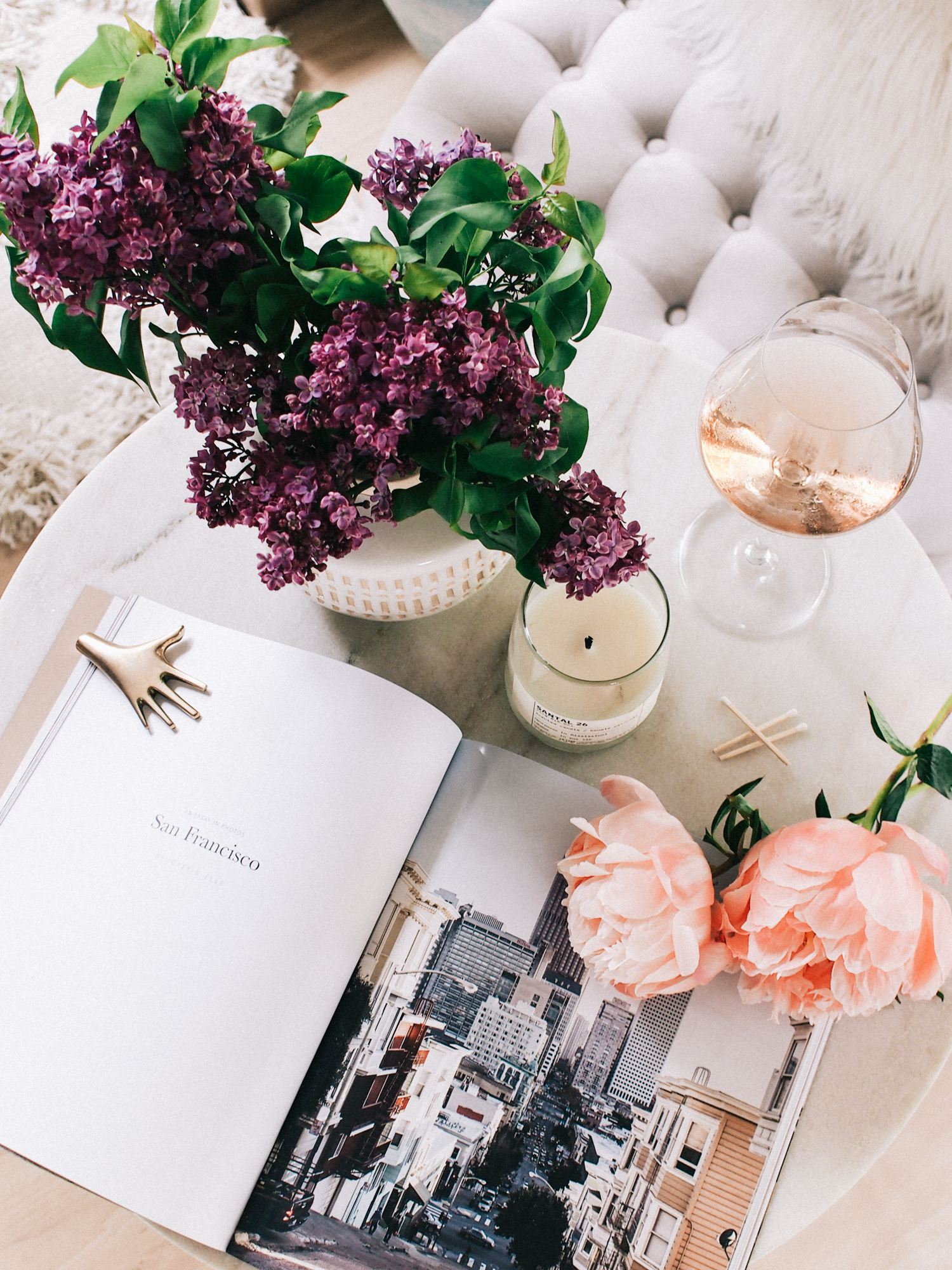 Entry table style | A Fabulous Fete