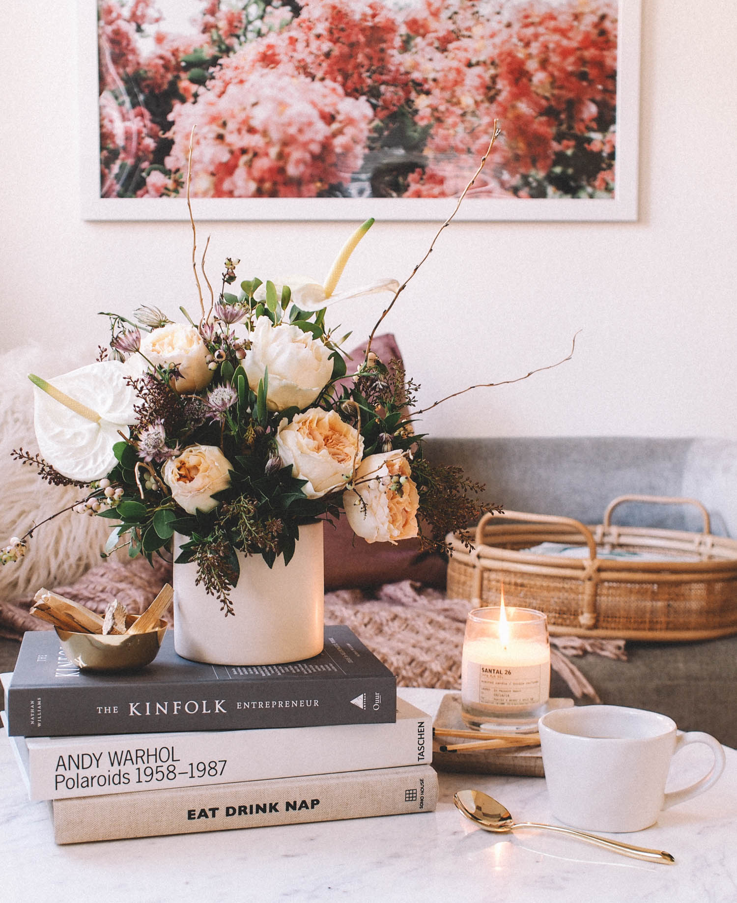 The Perfectly Styled Coffee Table | A Fabulous Fete