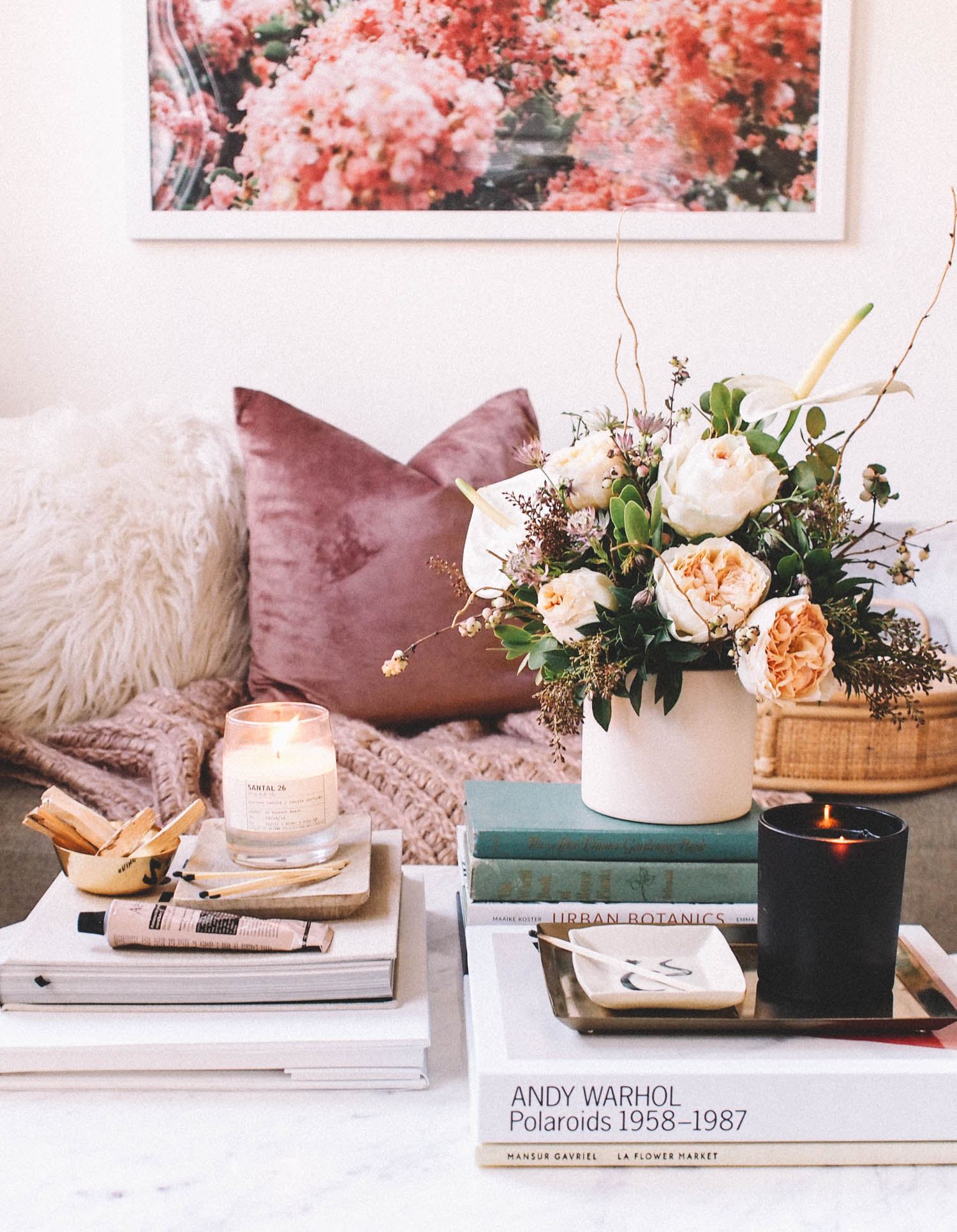 Styled Coffee Table| A Fabulous Fete