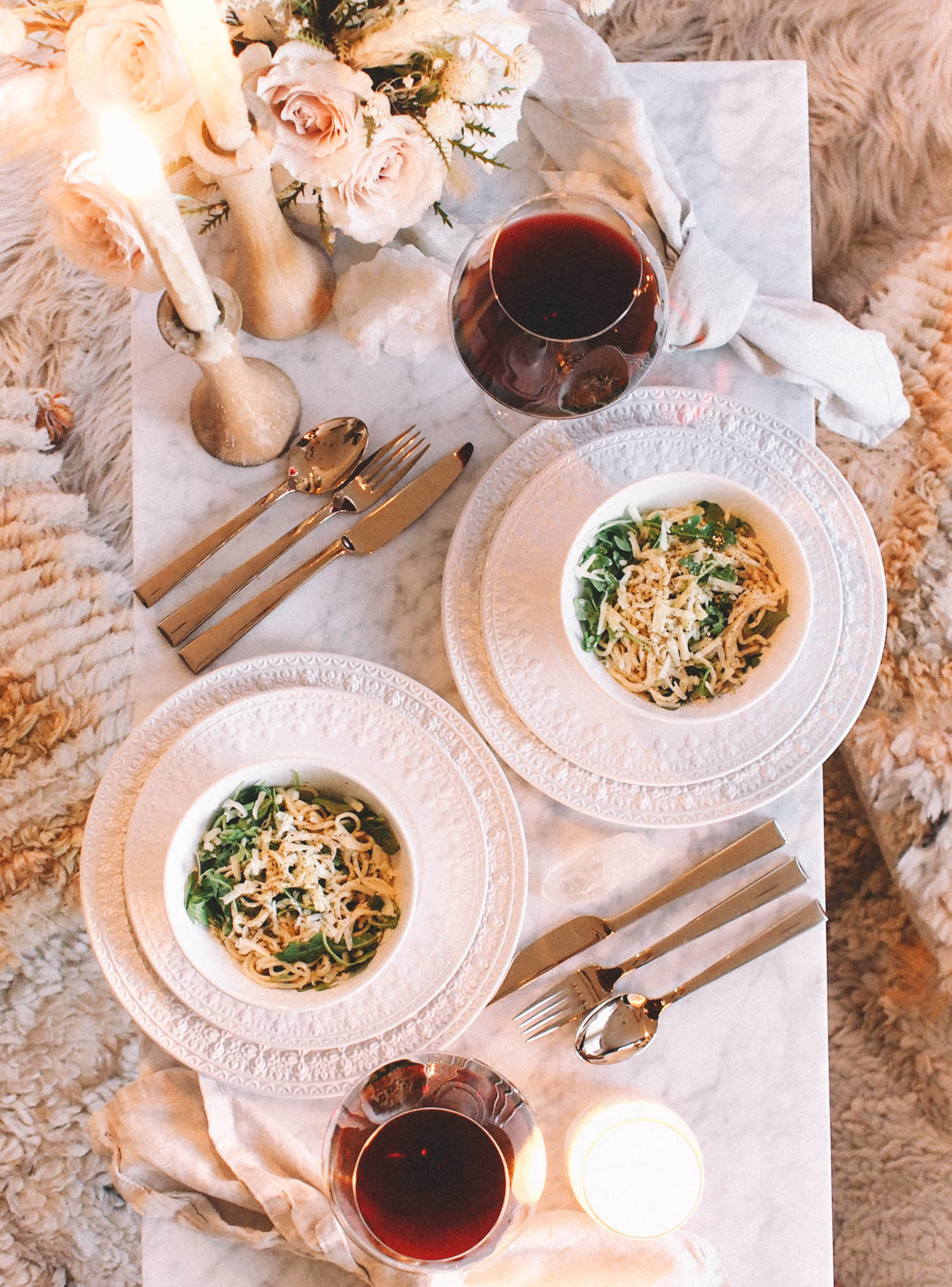 Date night dinner for 2 | A Fabulous Fete