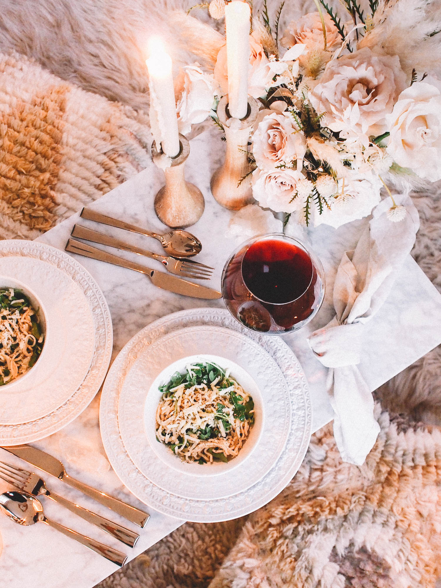 Easy pasta date night recipe | A Fabulous Fete