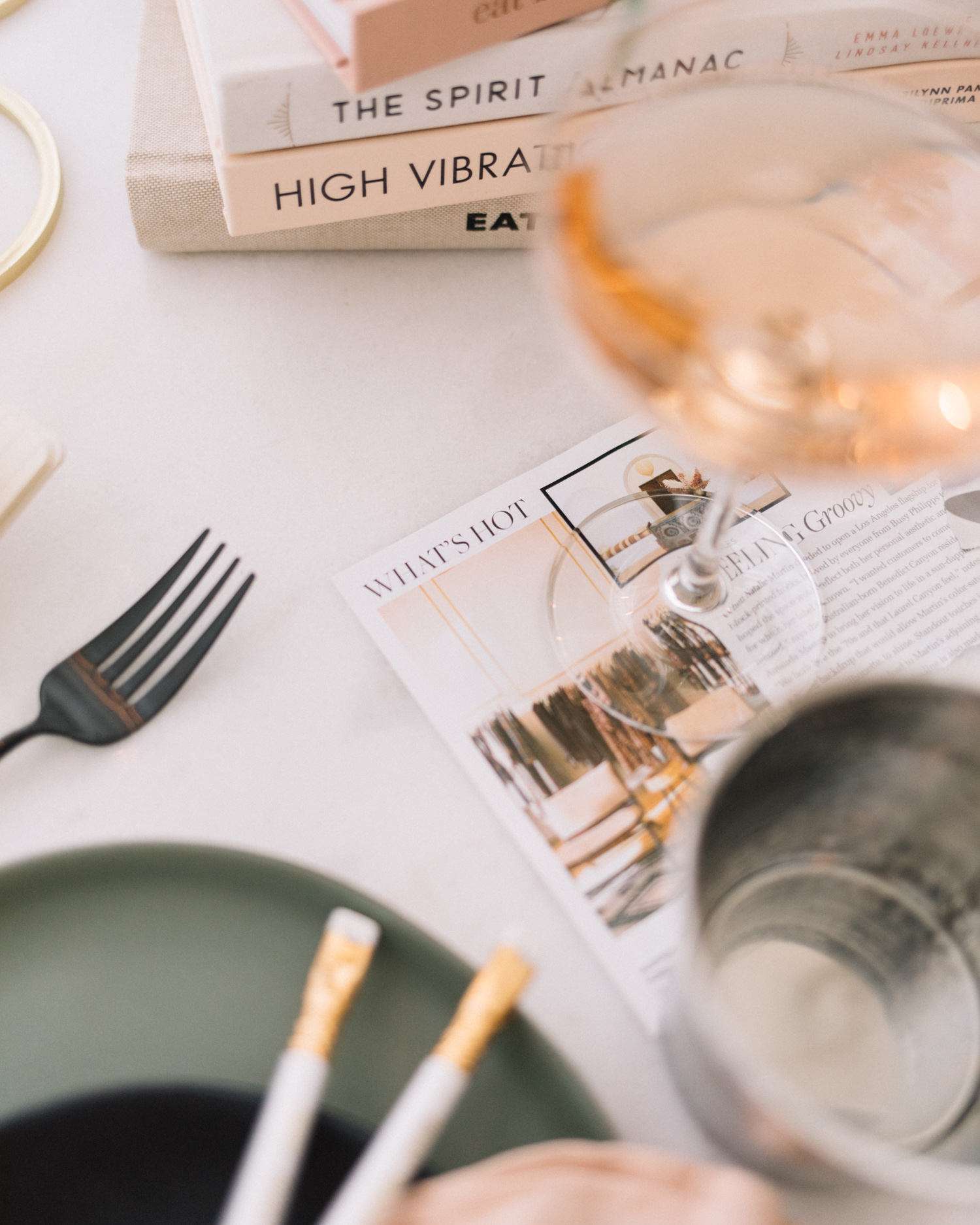 Host a Goal Setting Dinner with Friends  | A Fabulous Fete