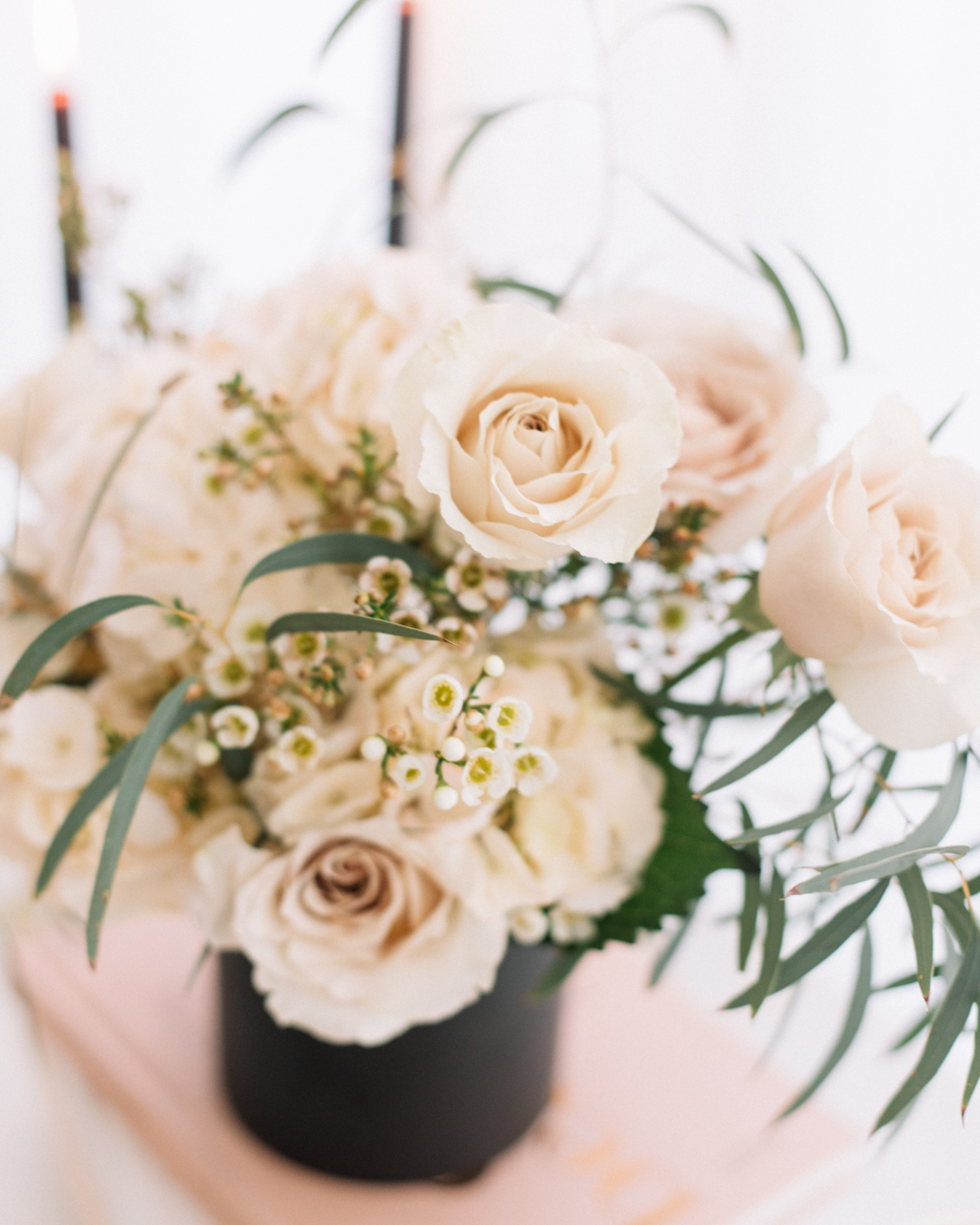 Simple Floral Arrangement for Girls' Night | A Fabulous Fete