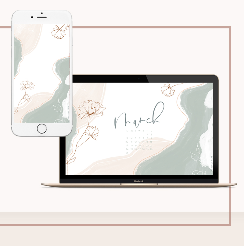 PS - DID YOU DOWNLOAD YOUR MARCH DESKTOP + IPHONE WALLPAPERS YET? - All you have to do is sign up for our newsletter (below) and you'll receive access to our full library + your monthly wallpapers.