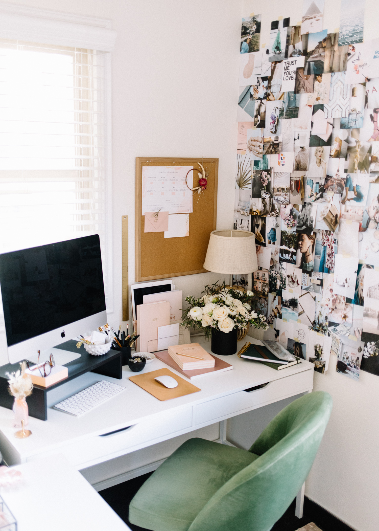 How to Organize Your Desk  | A Fabulous Fete