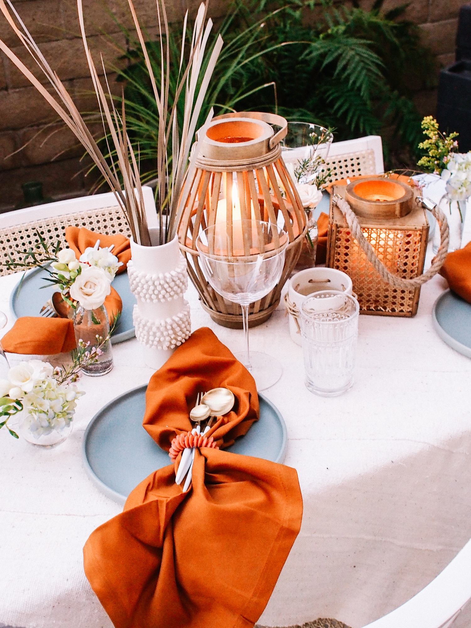 Easy Backyard Dinner | A Fabulous Fete