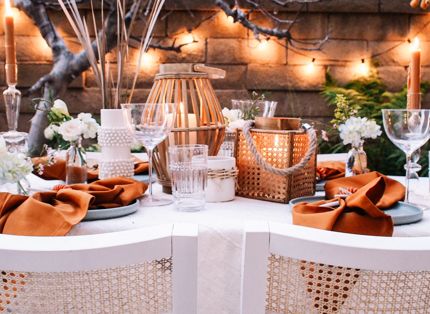 How to Host a Dinner in Your Garden | A Fabulous Fete