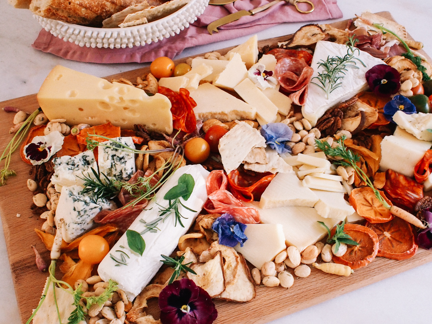 4 Foods for a Perfect Cheese Board | A Fabulous Fete