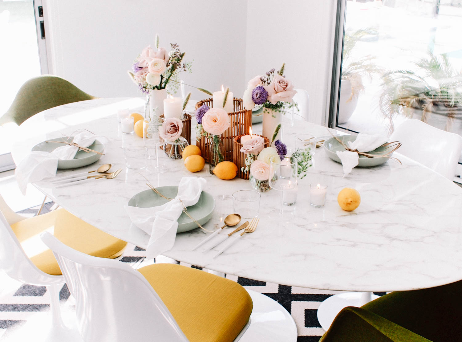 How to use fruit as a table accessory // A Fabulous Fete