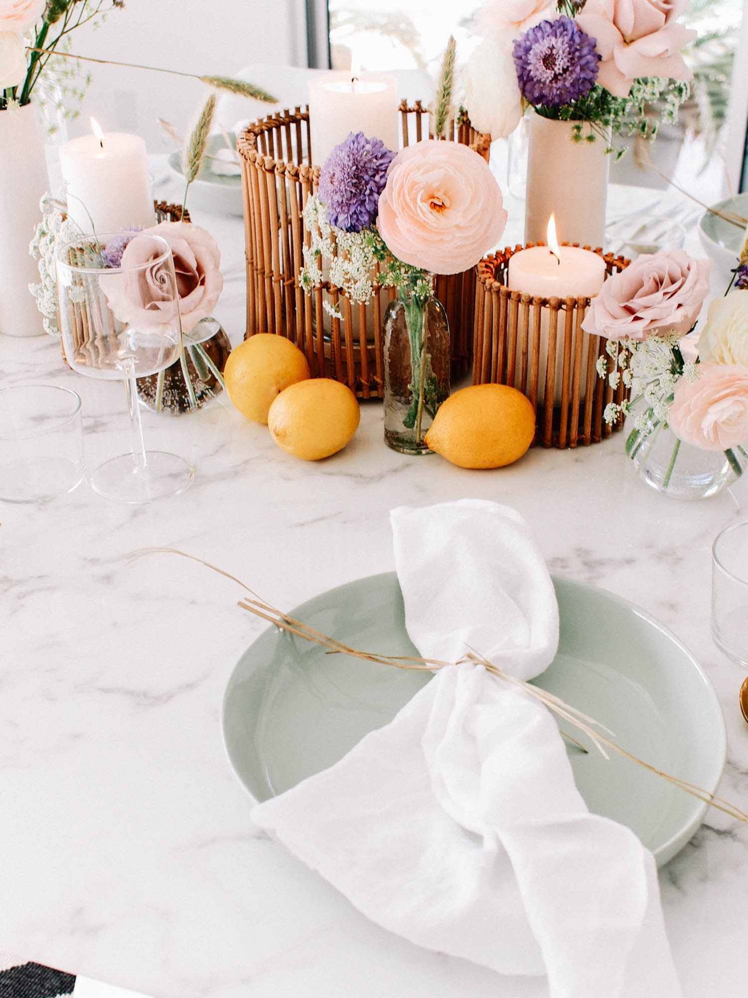 Tips for creating A Fun Tablescape // A Fabulous Fete
