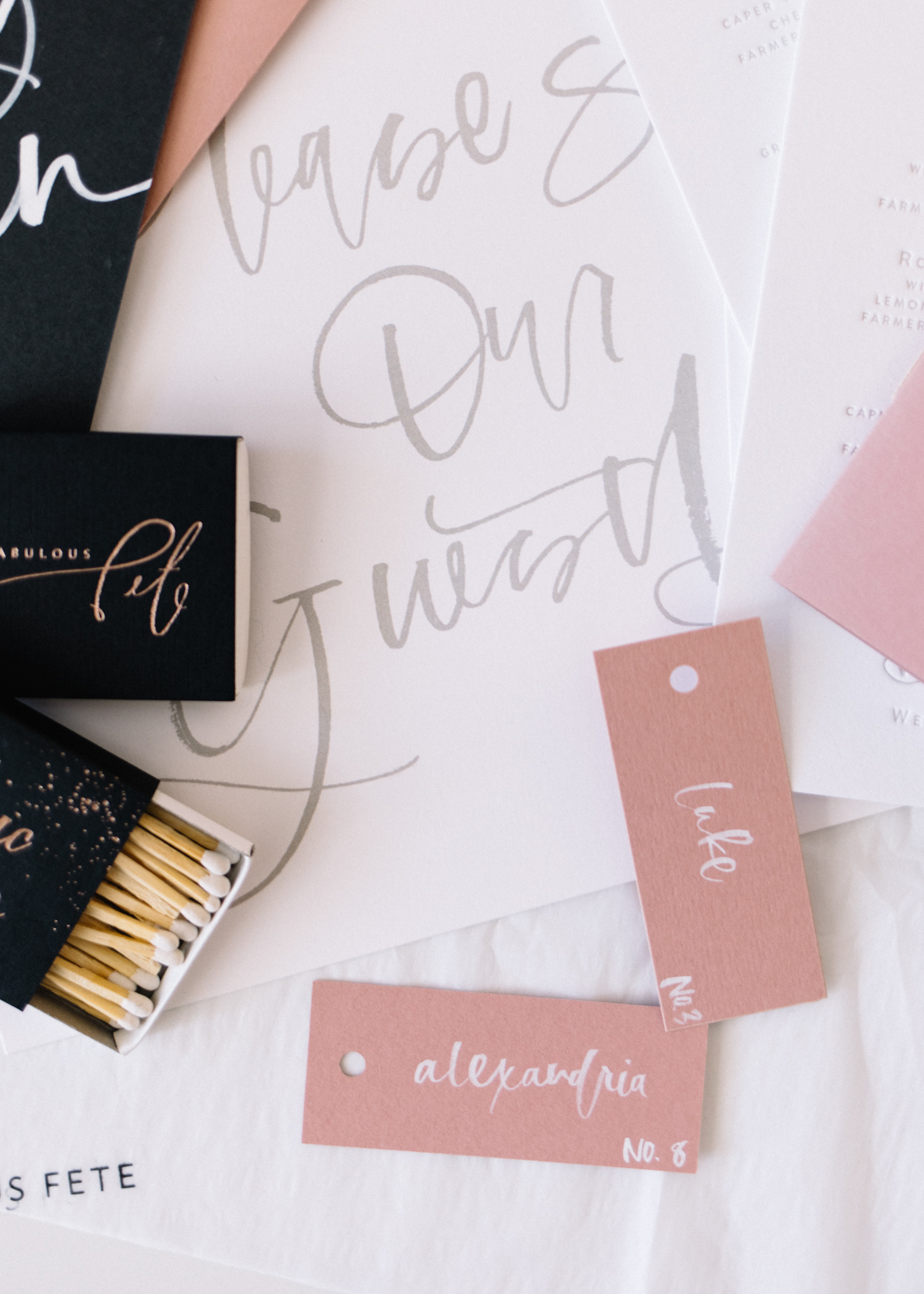 'Day Of Wedding Stationery': Why and What You May Need  || A Fabulous Fete