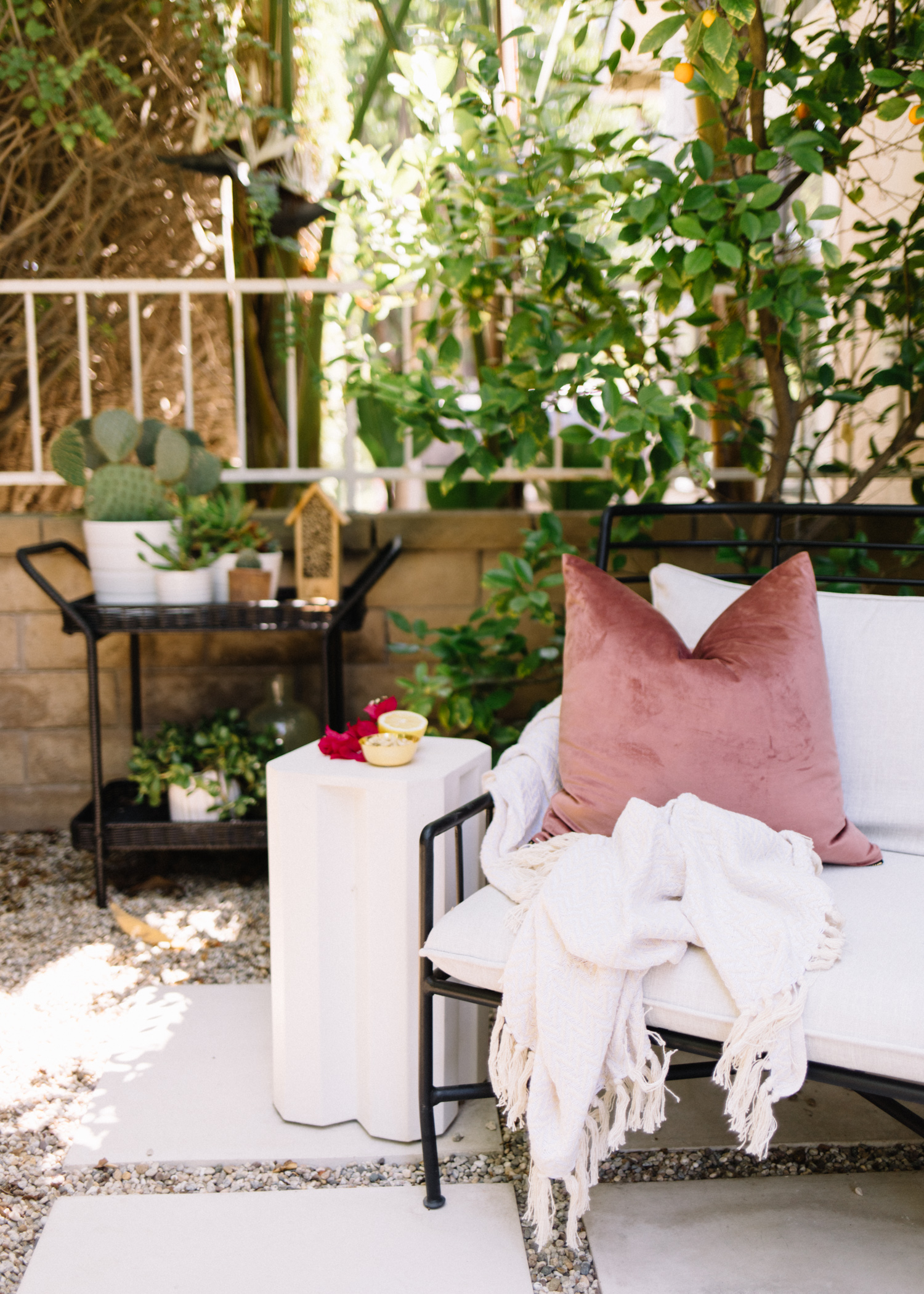 The Best Way To Update Your Patio  | A Fabulous Fete