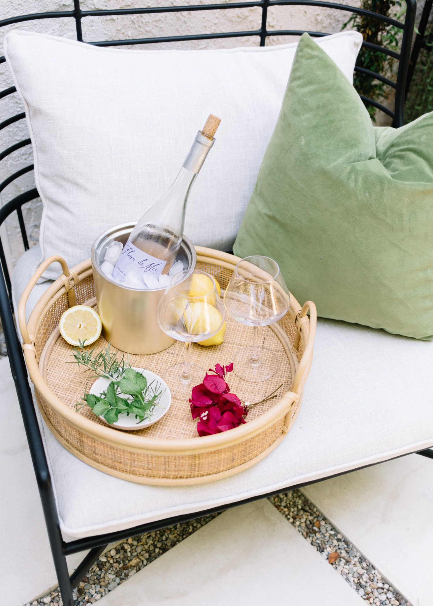 5 Ways to Spruce Up Your Patio on a Budget For Summer | A Fabulous Fete