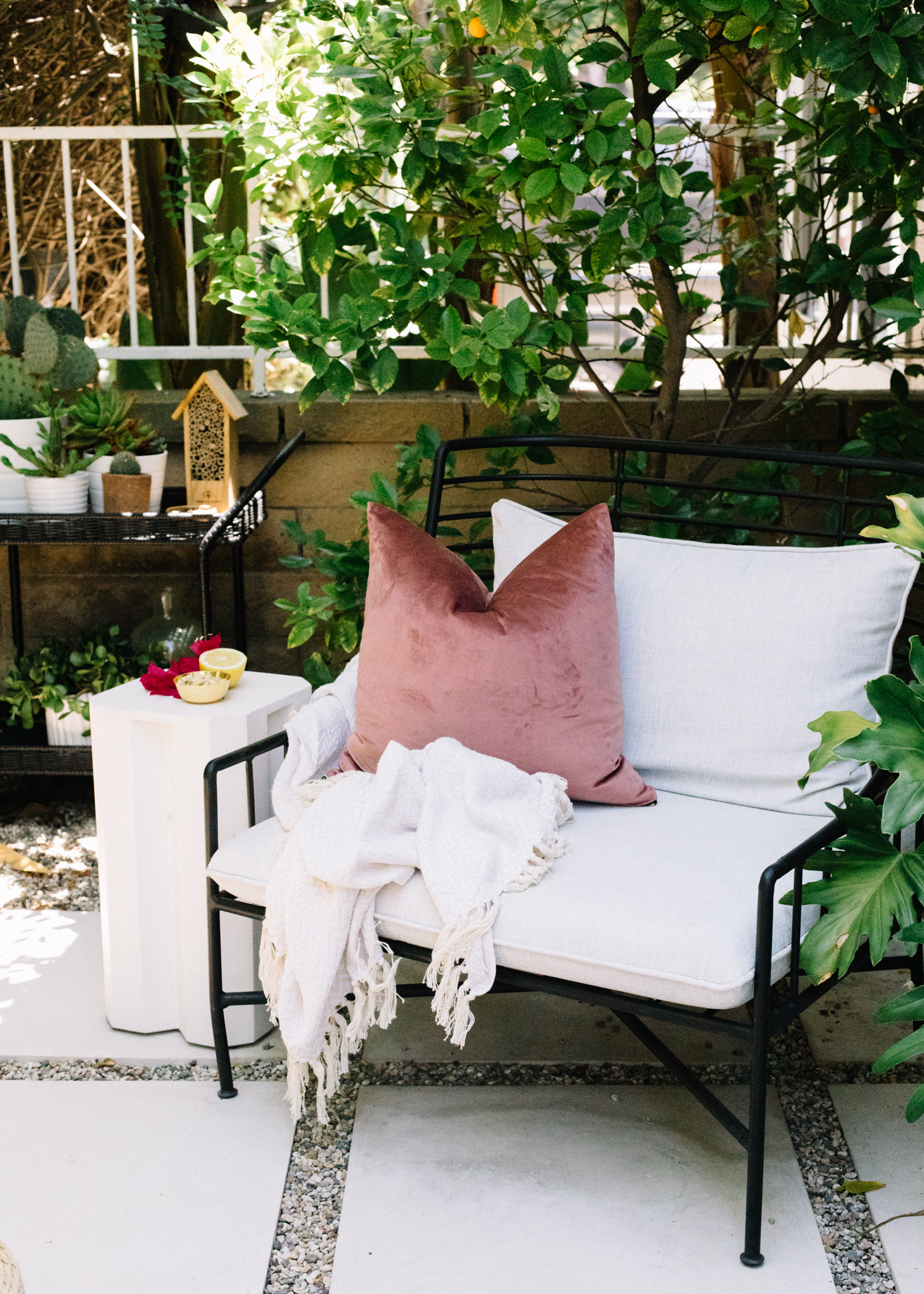 Patio Ideas On A Budget  | A Fabulous Fete