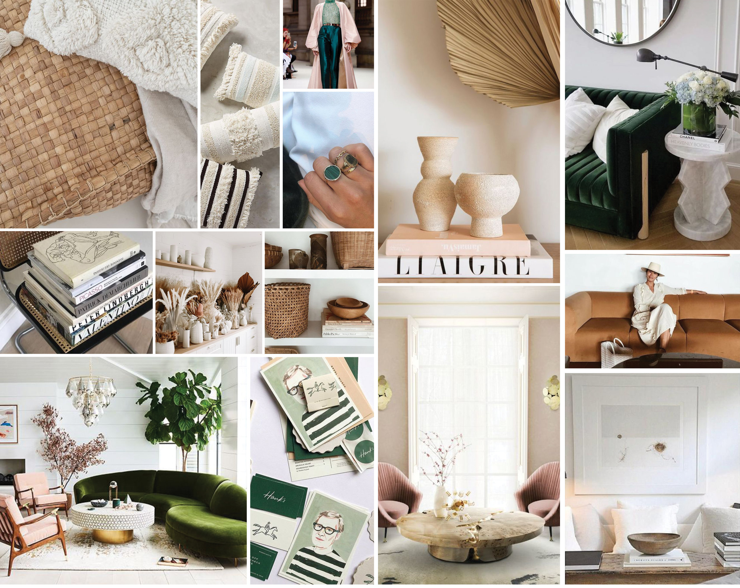 Our Living Room Update || Inspiration Board - A Fabulous Fete