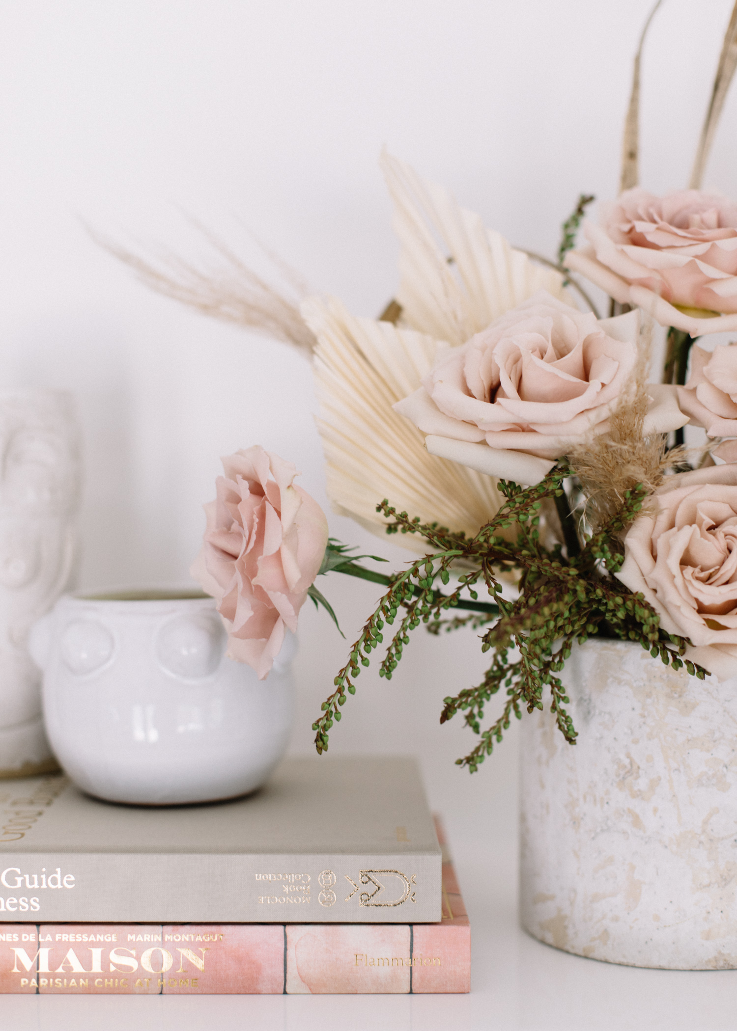 Summer Flowers | How To Mix Dried + Fresh - A Fabulous Fete