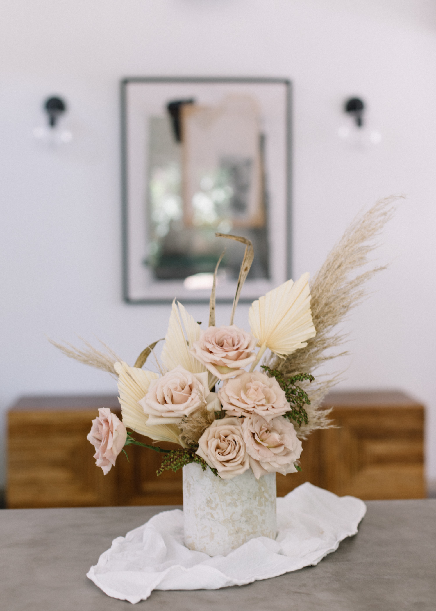 Real + Dried Flower Arrangement - A Fabulous Fete.jpg