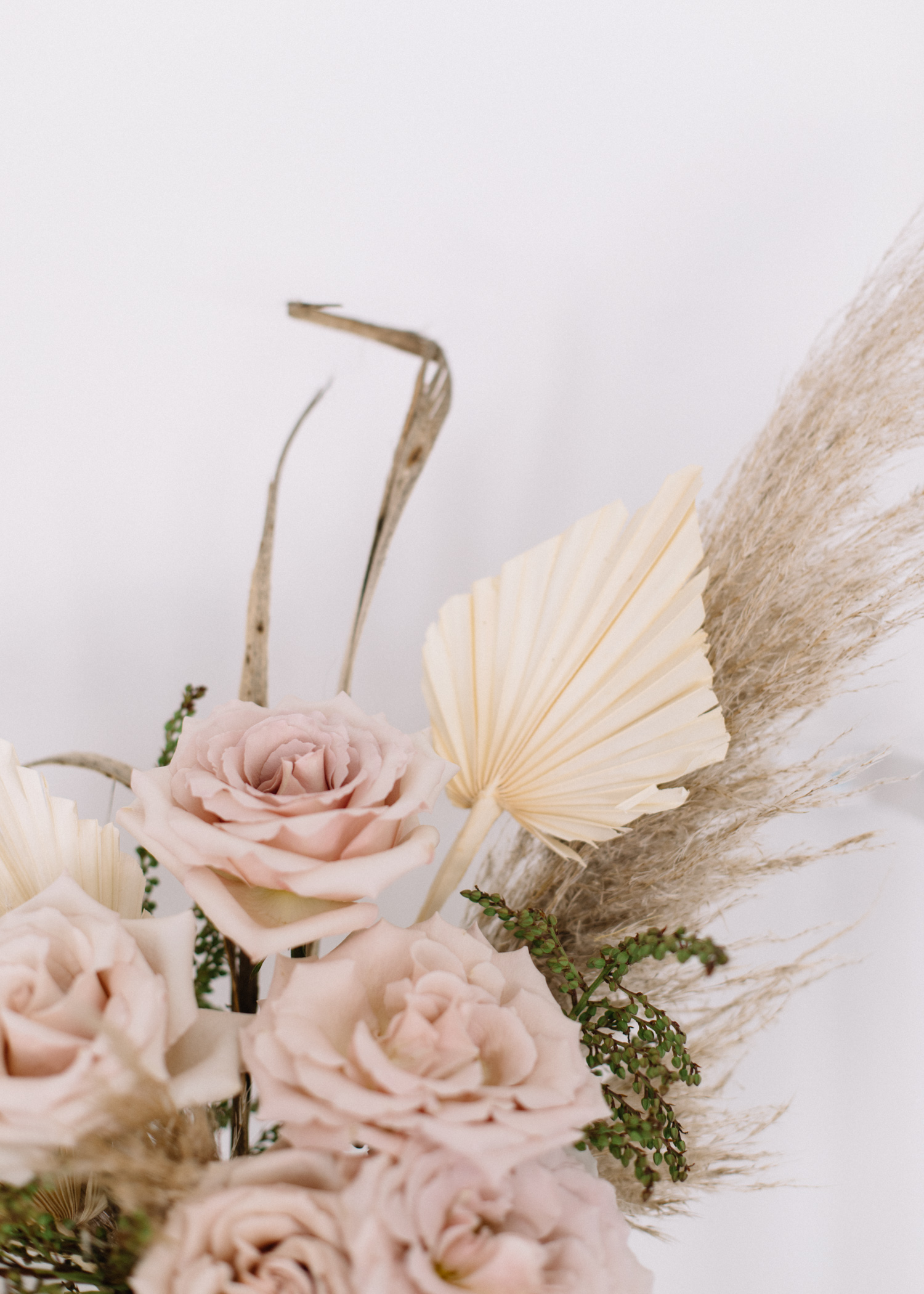 Dried + Real Florals || Summer Flower Arrangement - A Fabulous Fete.jpg