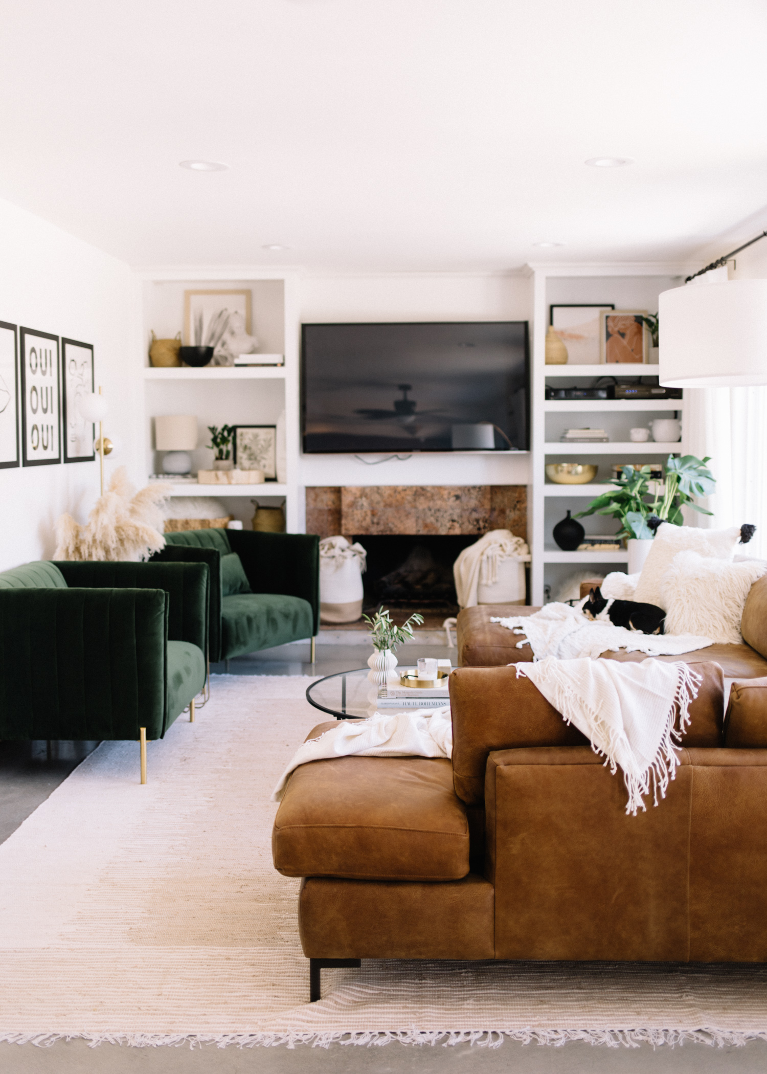 Mid-Century Modern Meets Bohemian Home || Before + After with Amazon Home - A Fabulous Fete