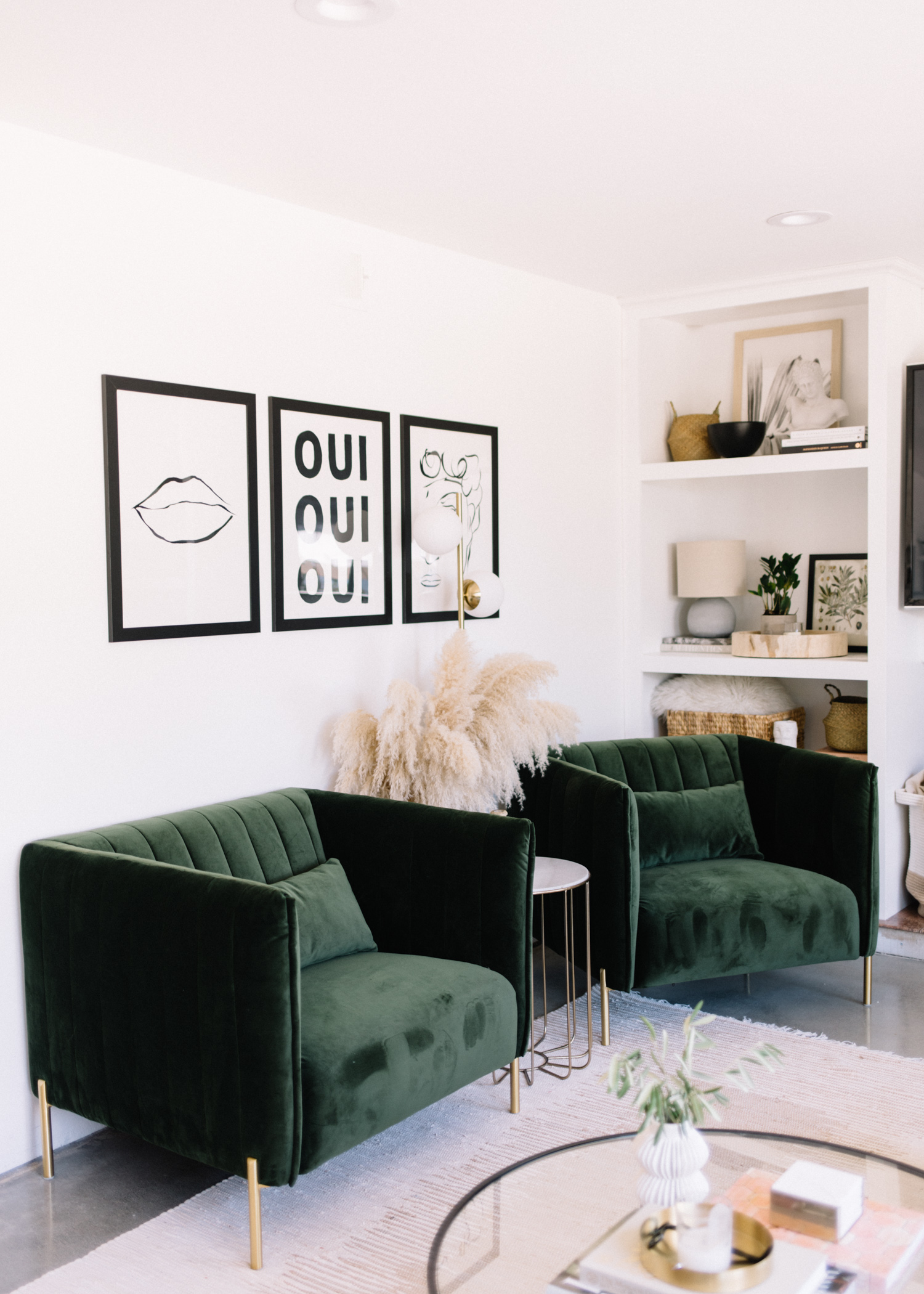Mid-Century Inspired Living Room with Amazon Home - A Fabulous Fete