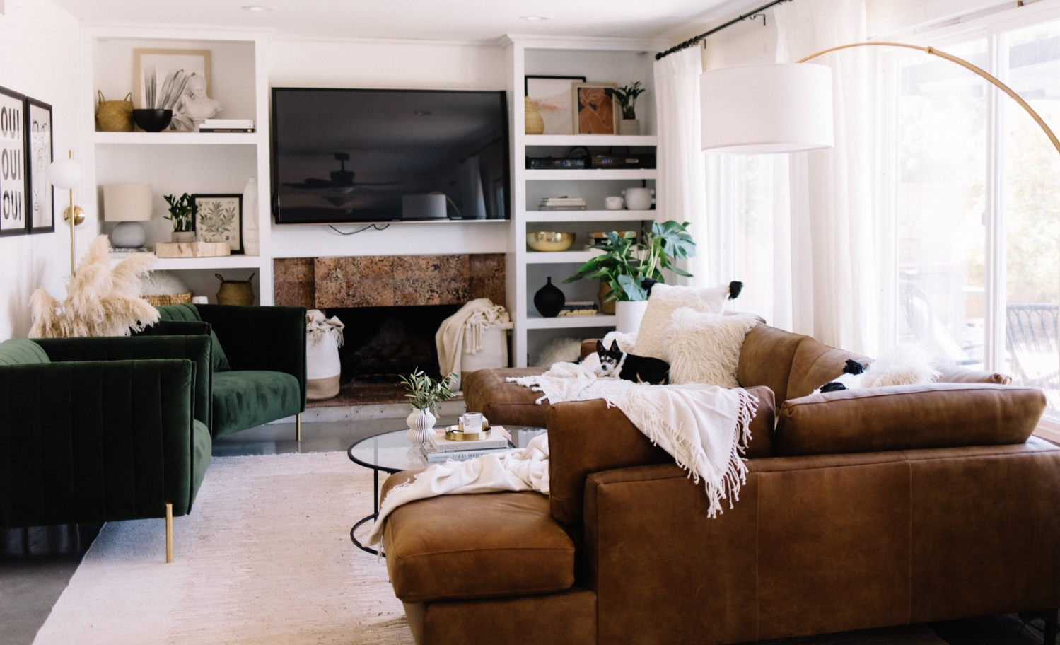 Our Living Room Before + After Reveal with Amazon // Home - A Fabulous Fete