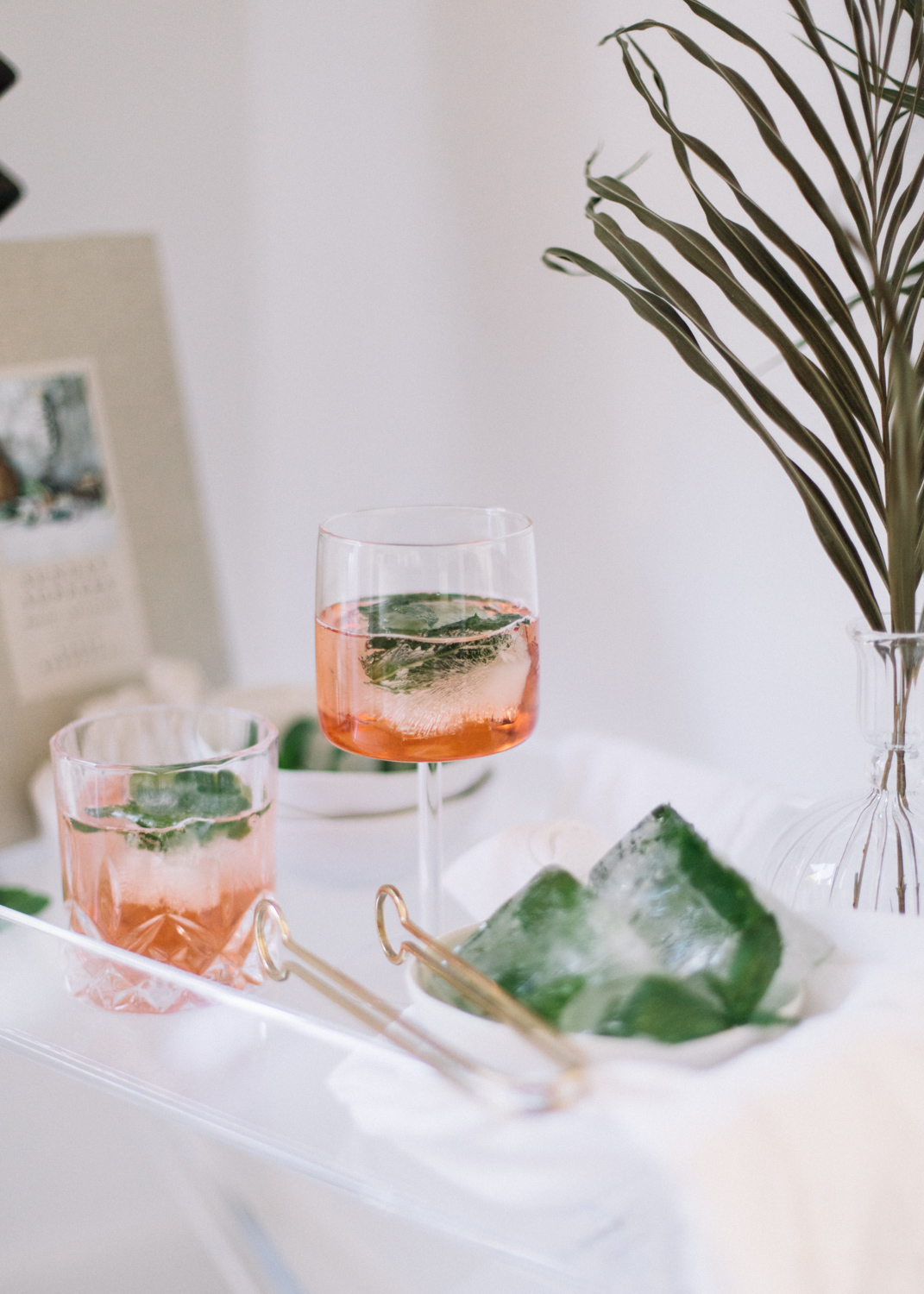 Summer Cocktails with Mint Ice Cubes - A Fabulous Fete.jpg