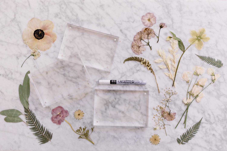 Pressed Flower DIY - A Fabulous Fete