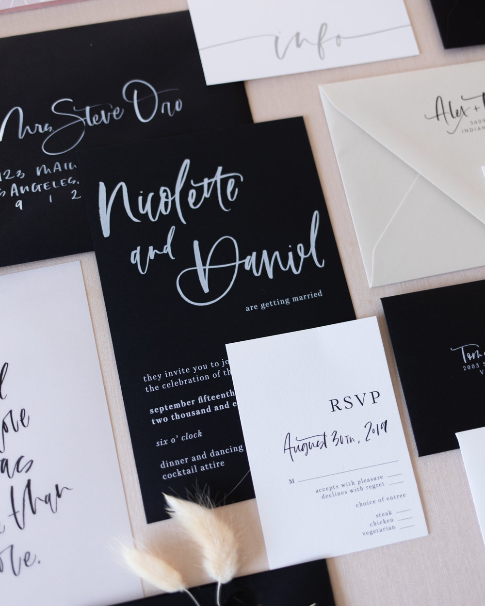 wedding invitations — A Fabulous Fete Blog / All Categories — A Fabulous  Fete