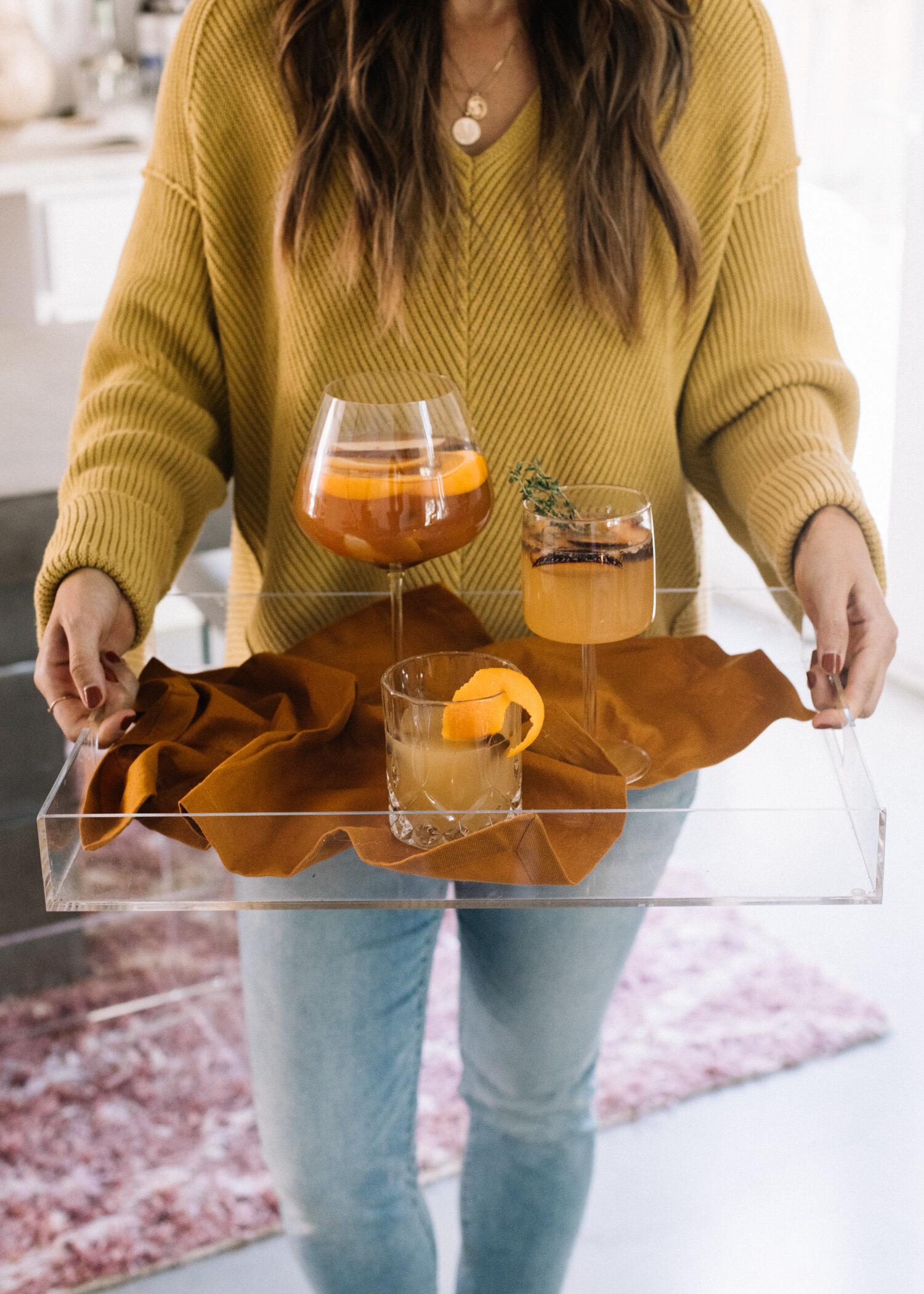 Seasonal Fall Cocktails - A Fabulous Fete