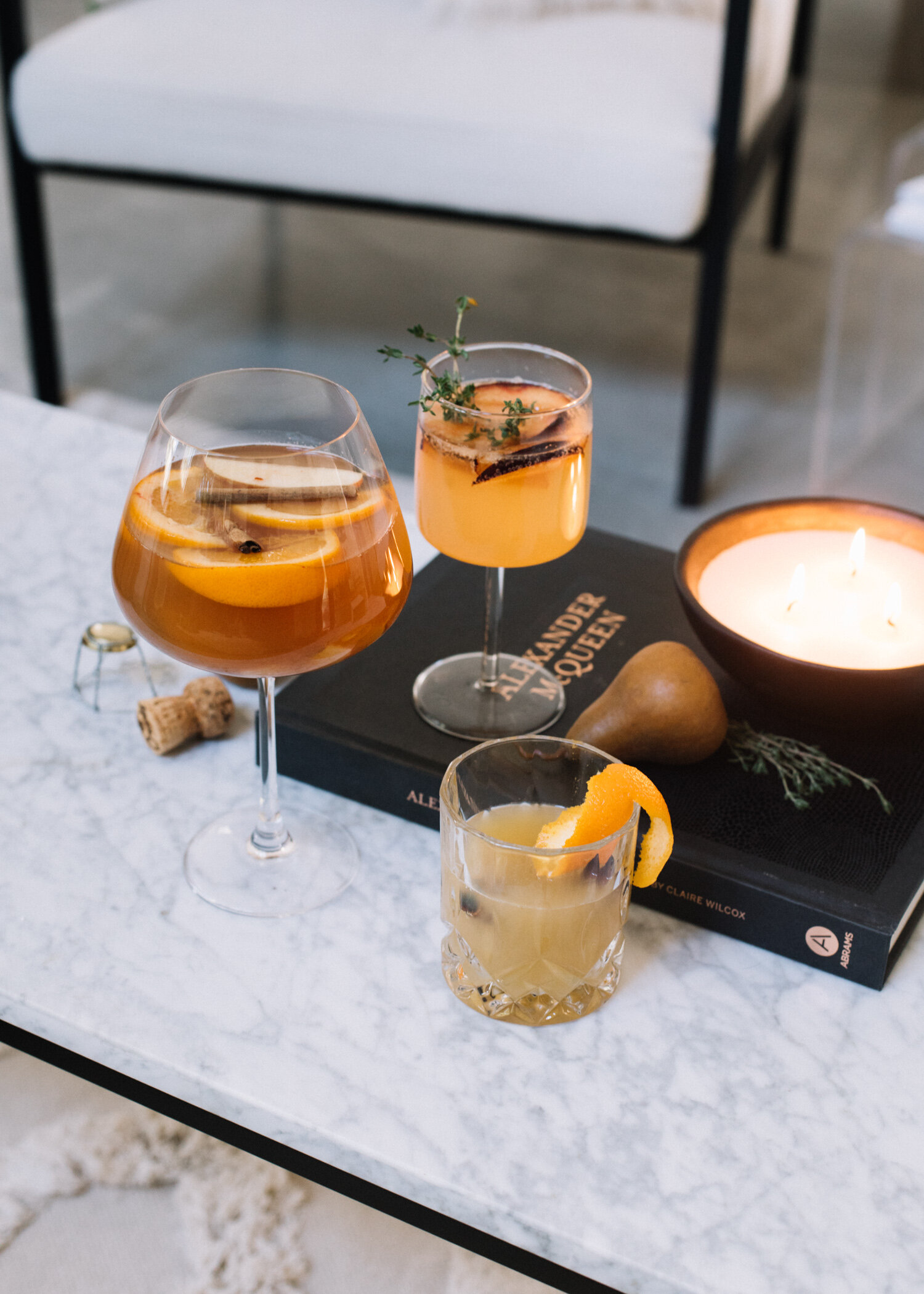 Favorite Seasonal Fall Cocktails - A Fabulous Fete