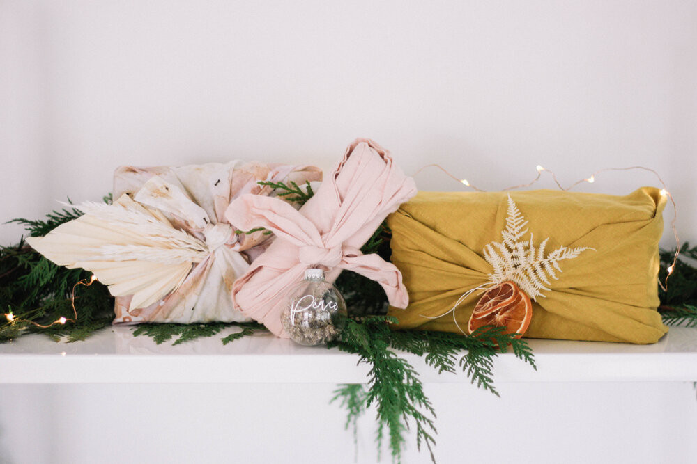 Sustainable Gift Wrap - A Fabulous Fete